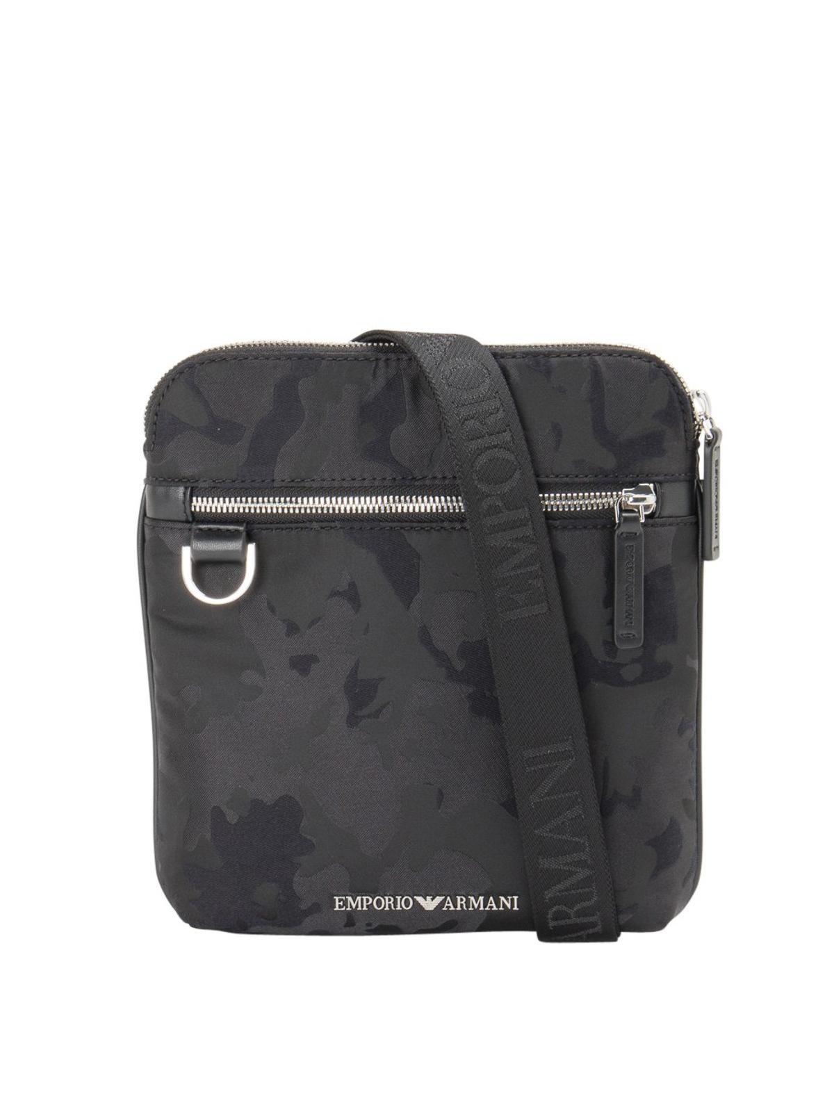 Emporio Armani Messengers CAMOUFLAGE SHOULDER BAG