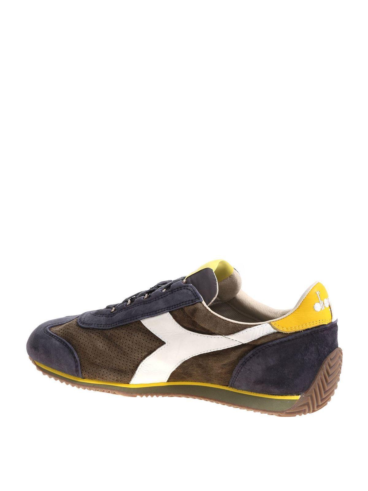 Elegante Sneakers Diadora Heritage Donna Blu