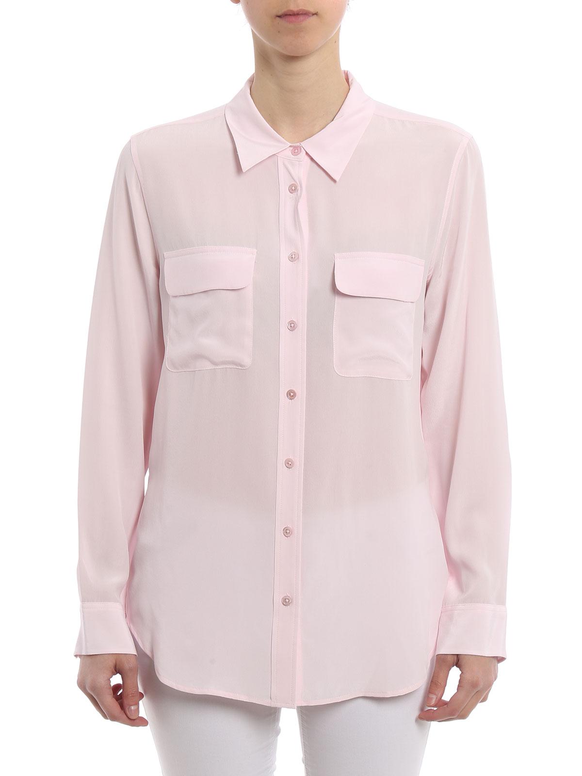Camisas Rosada Mujer Petalpink Camisa Q23e231 Para Equipment wq6AIA