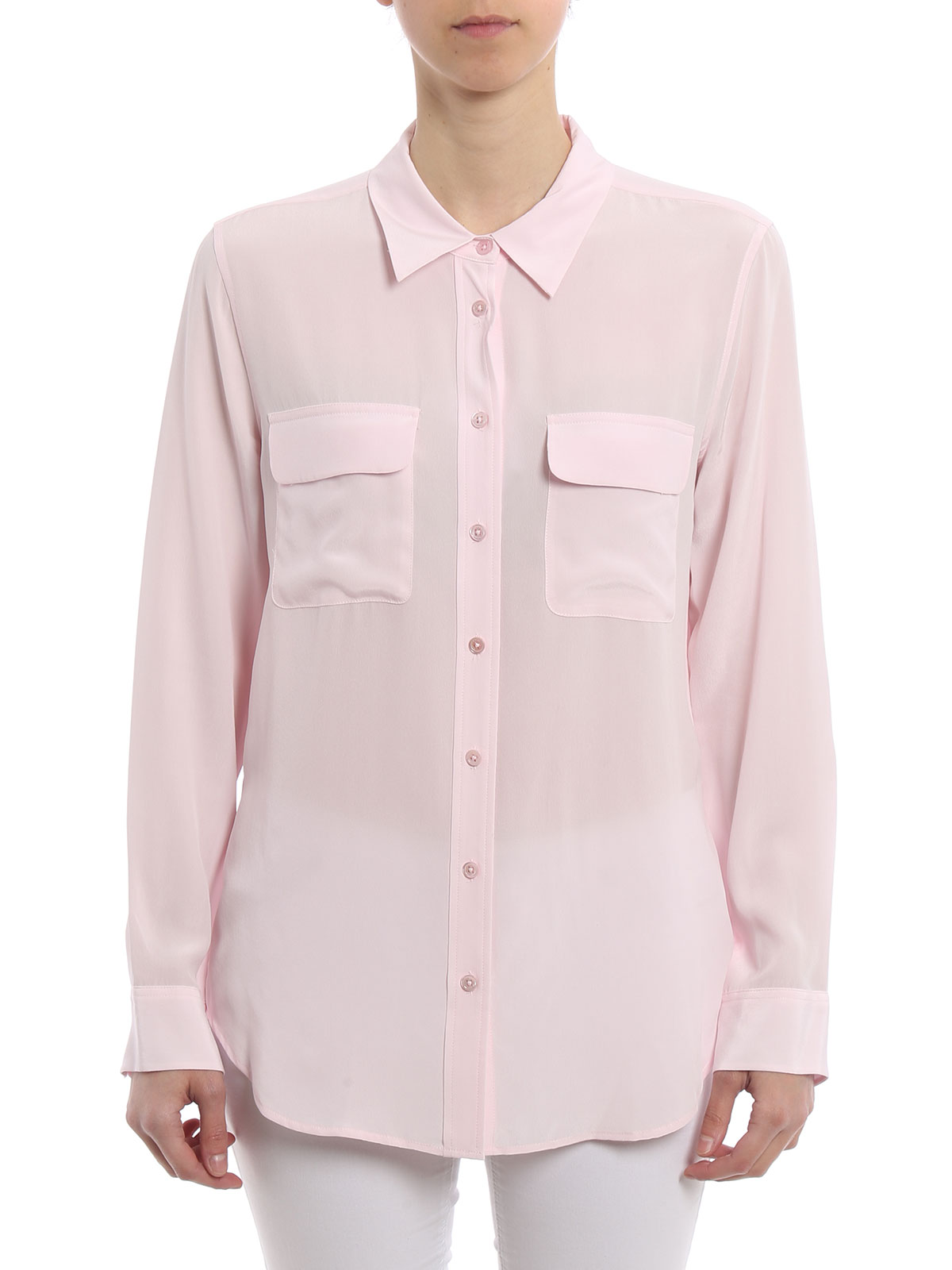 Mujer Equipment Petalpink Para Q23e231 Rosada Camisa Camisas w0ZPqB0