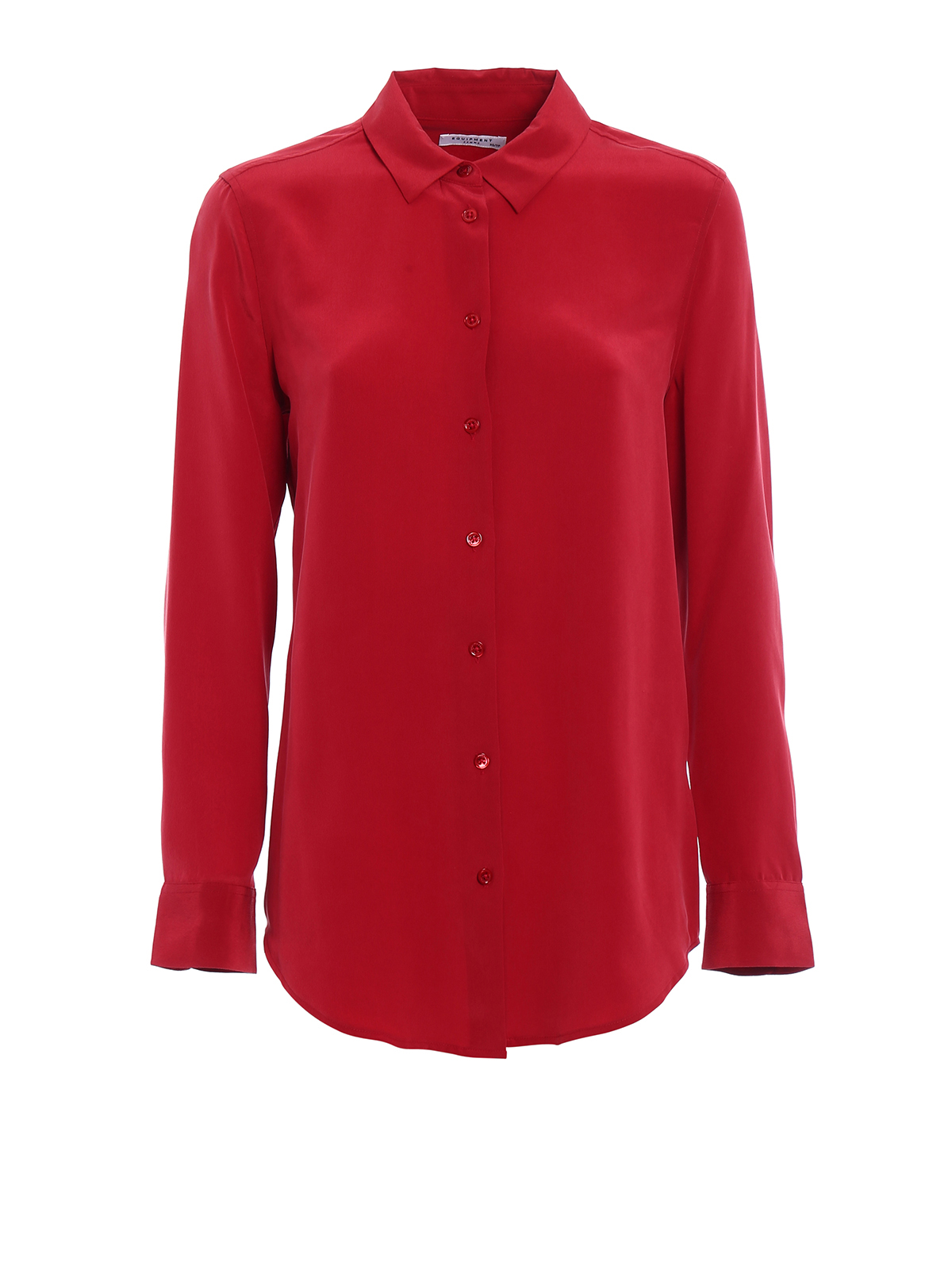 huge selection of 35a13 bfb56 Equipment - Camicia Essential in seta rossa - camicie - Q23 ...