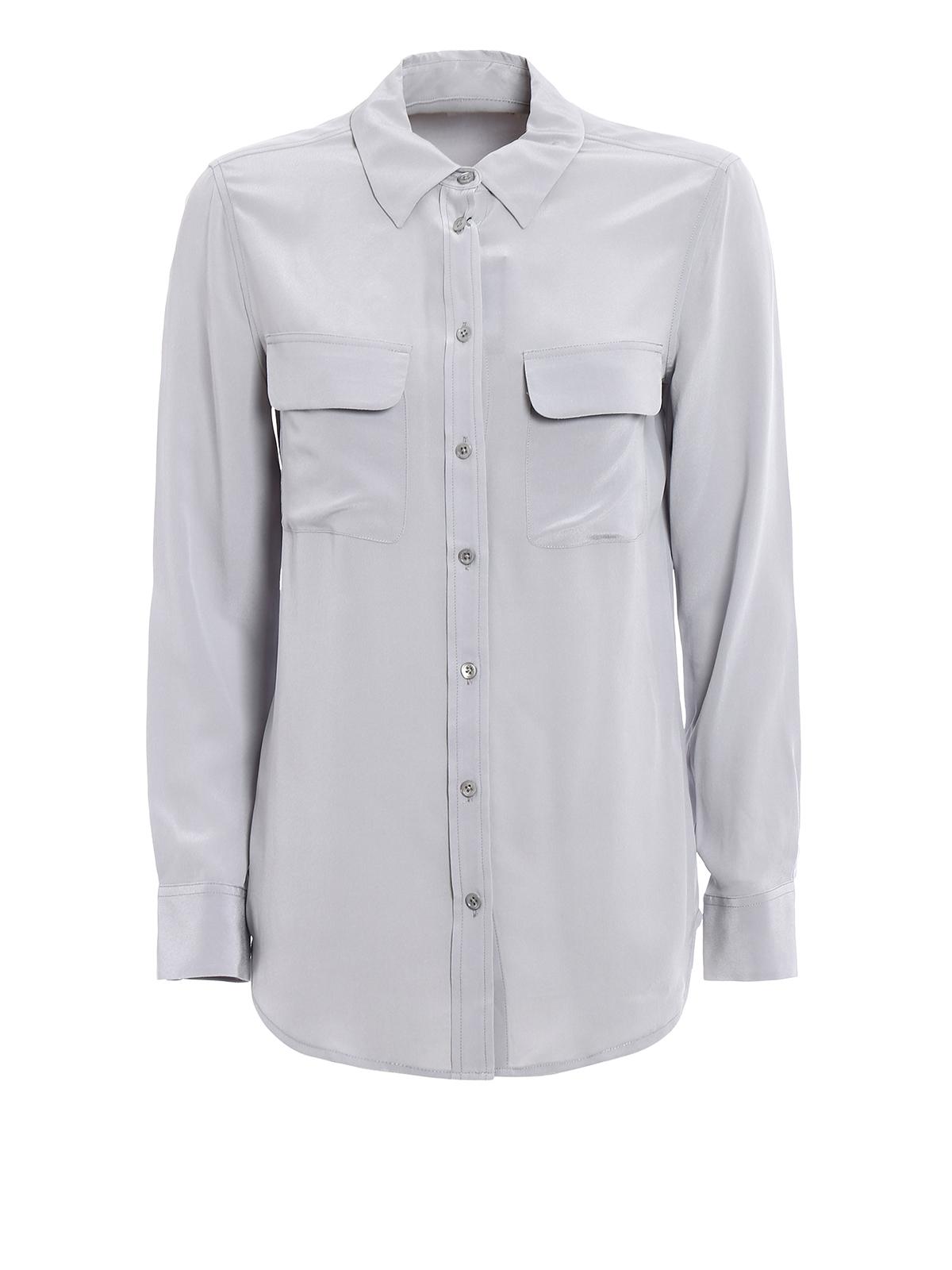 Slim signature silk shirt by equipment shirts ikrix for Equipment signature silk shirt