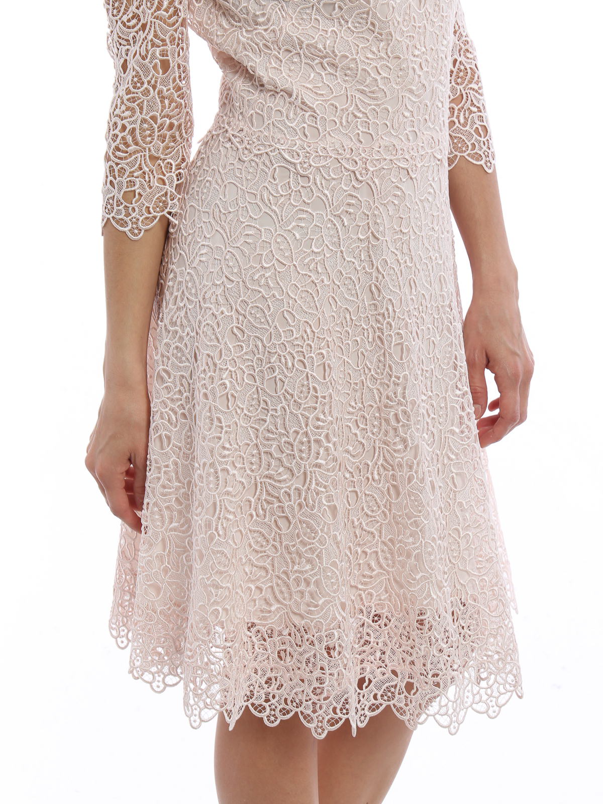 Ermanno Scervino Romantic see through lace dress