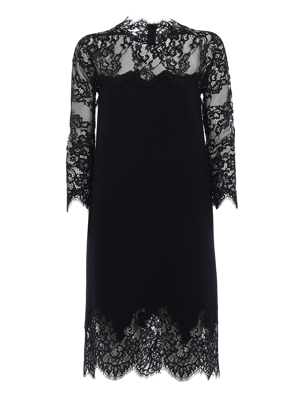 322a77ec7d60 Ermanno Scervino - Bon ton lace pashmina dress - cocktail dresses ...
