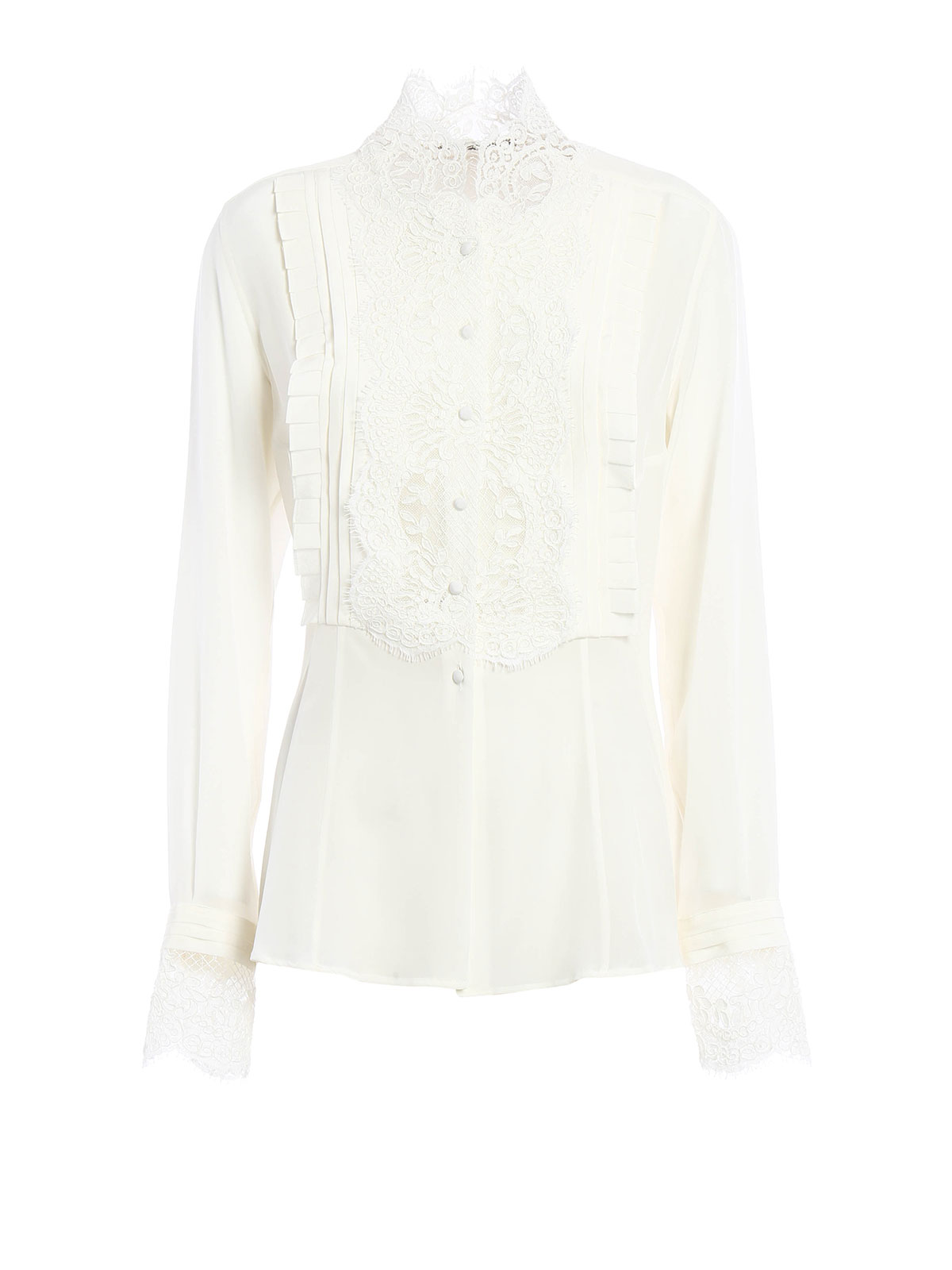 Black silk shirt Ermanno Scervino Clearance The Cheapest lxwbqxmsvK