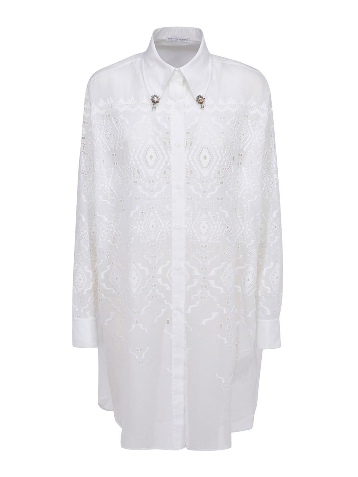 Ermanno Scervino LACE SHIRT DRESS