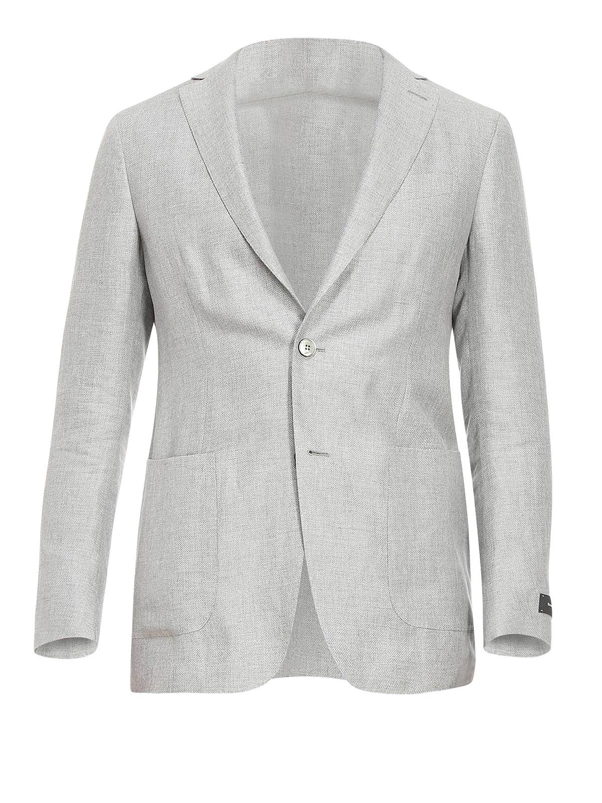 5608e4f1 Ermenegildo Zegna - Silk and linen blazer - blazers - 10C1S0 776025