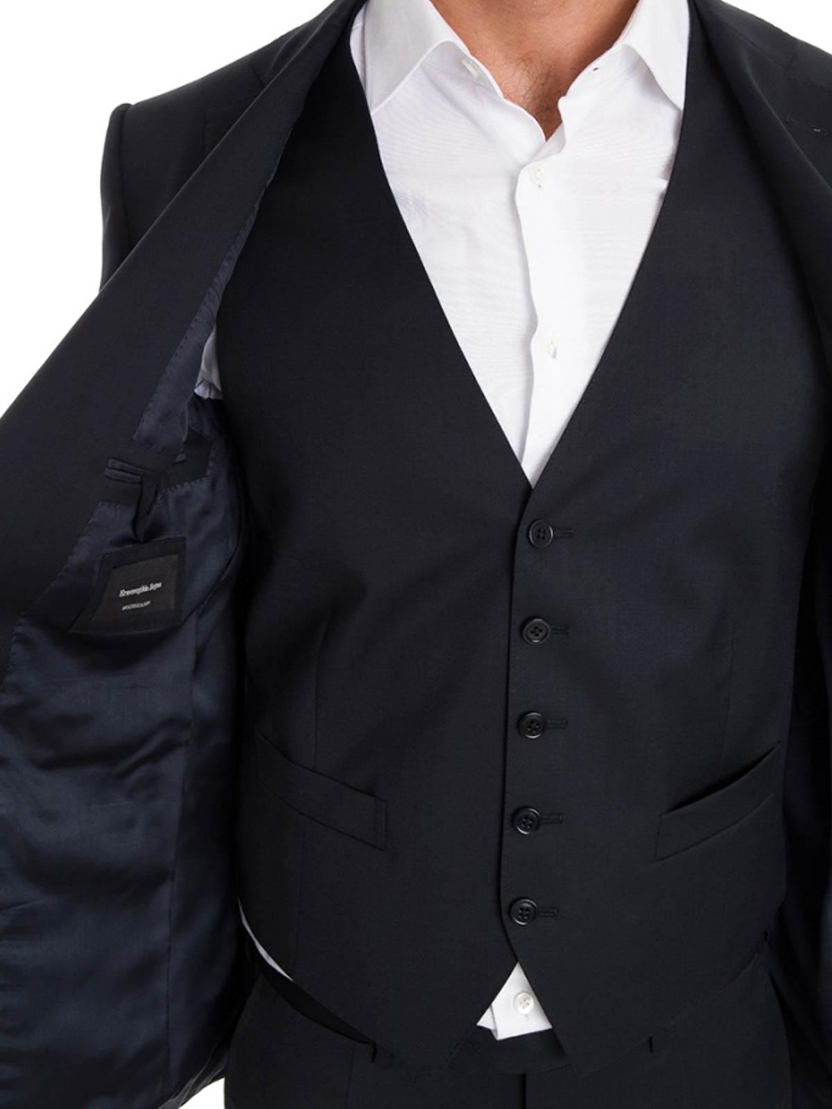 Ermenegildo Zegna - Abito in lana con gilet - completi da cerimonia ... 268667787cb