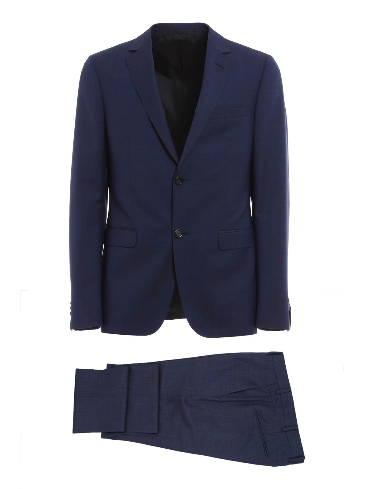 Ermenegildo Zegna Wool And Mohair Tailored Suit Formal