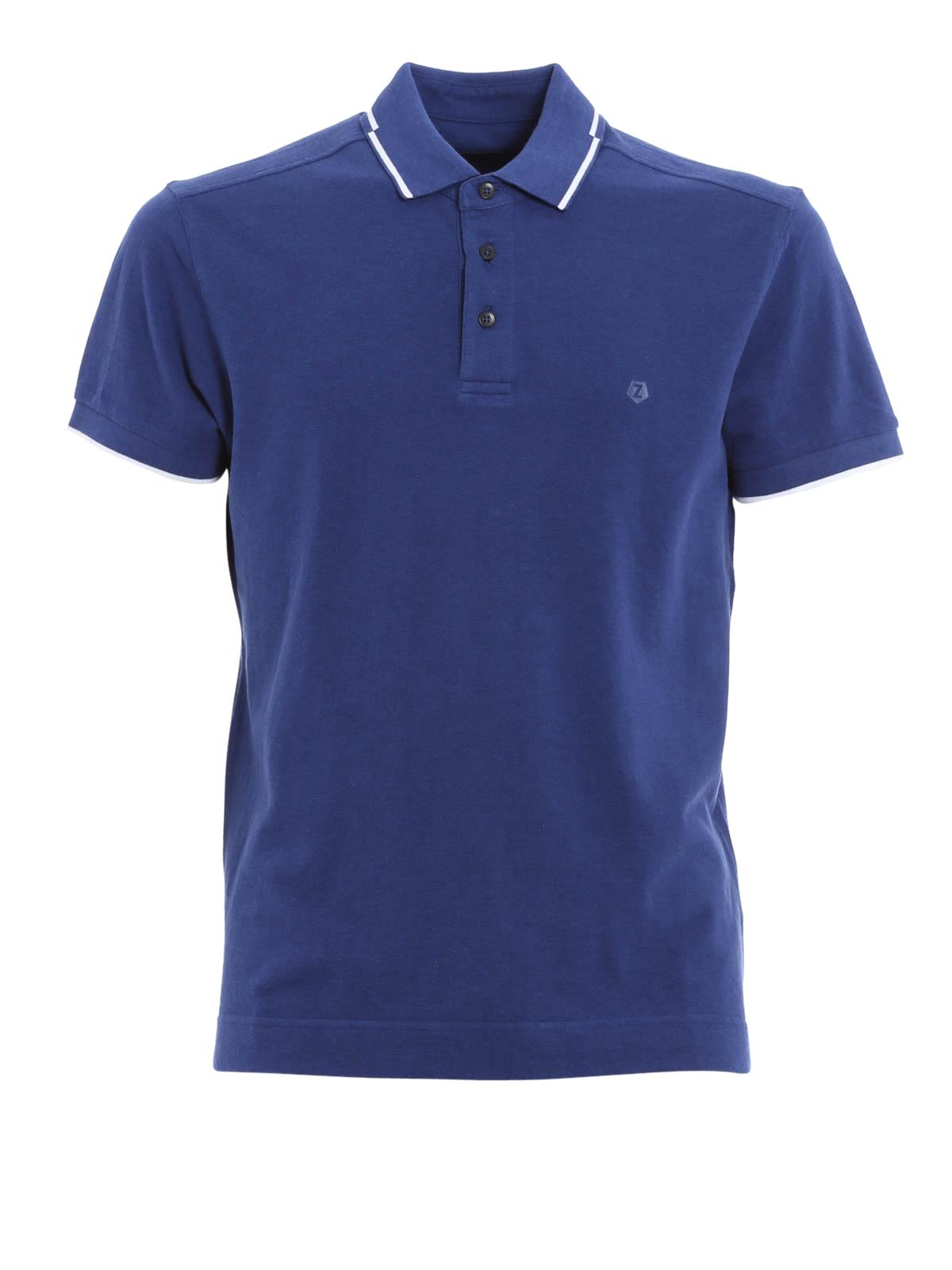 striped polo by ermenegildo zegna polo shirts ikrix