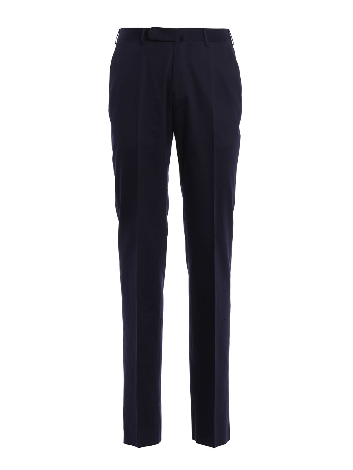 Ermenegildo Zegna - Cotton tailored trousers
