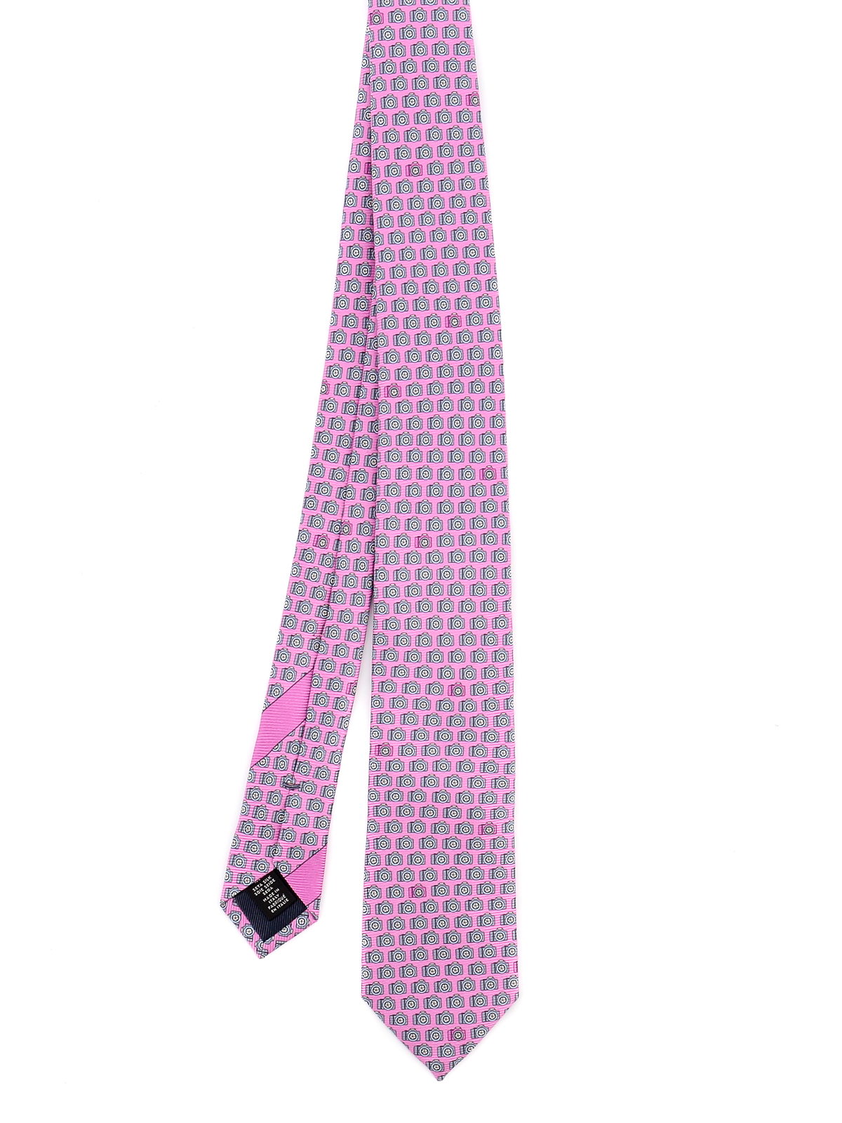 Ermenegildo Zegna CAMERA PATTERNED TIE