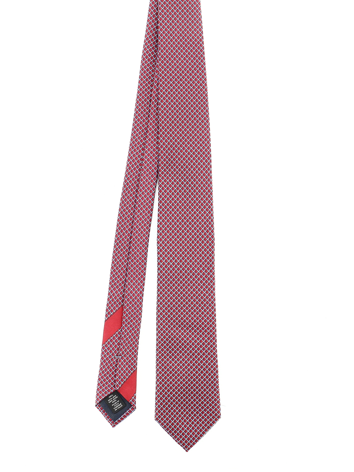 Ermenegildo Zegna SCALES PATTERNED TIE