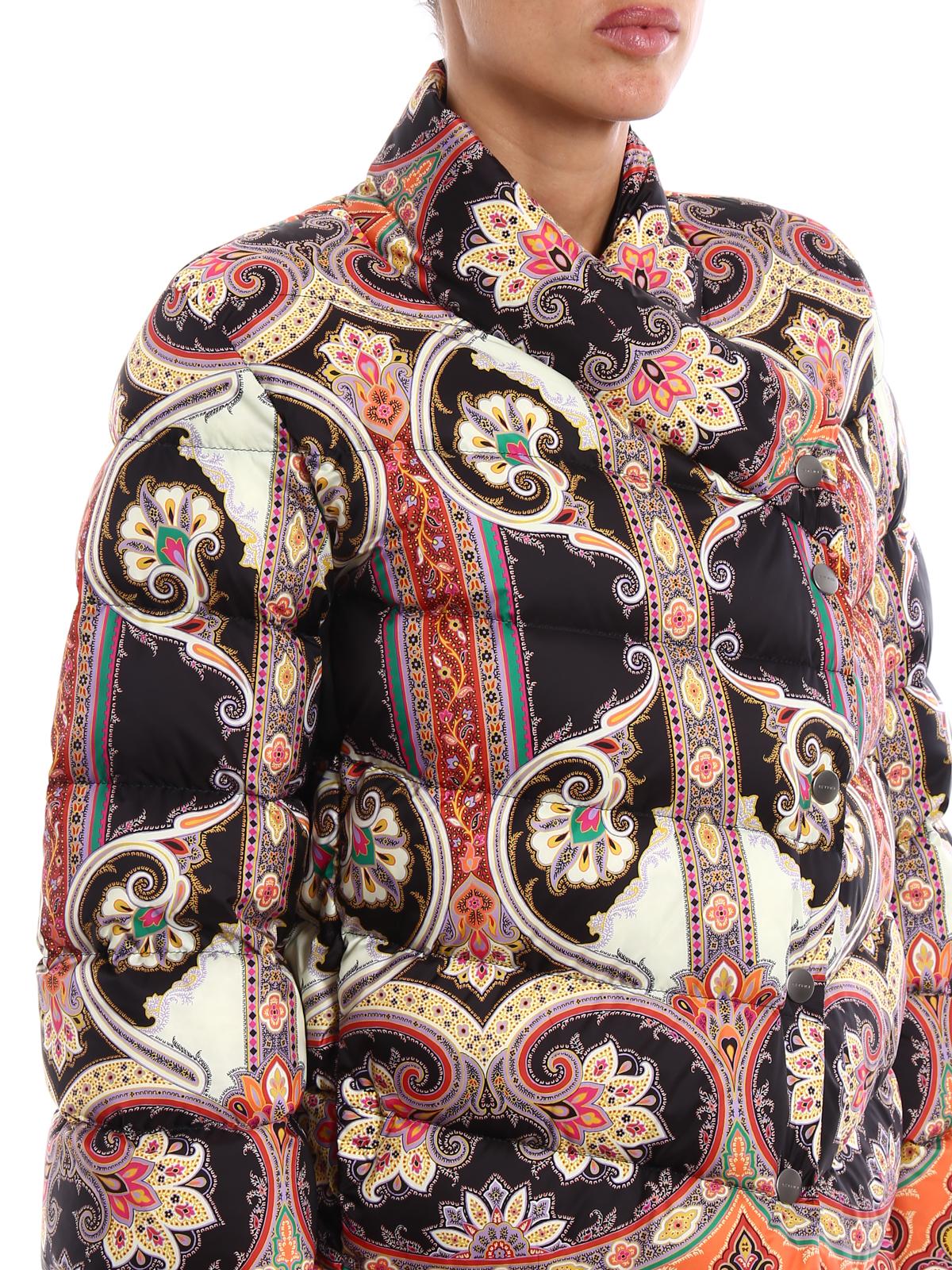 finest selection 7ea76 af0fd Etro - Piumino con motivo Paisley - giacche imbottite ...