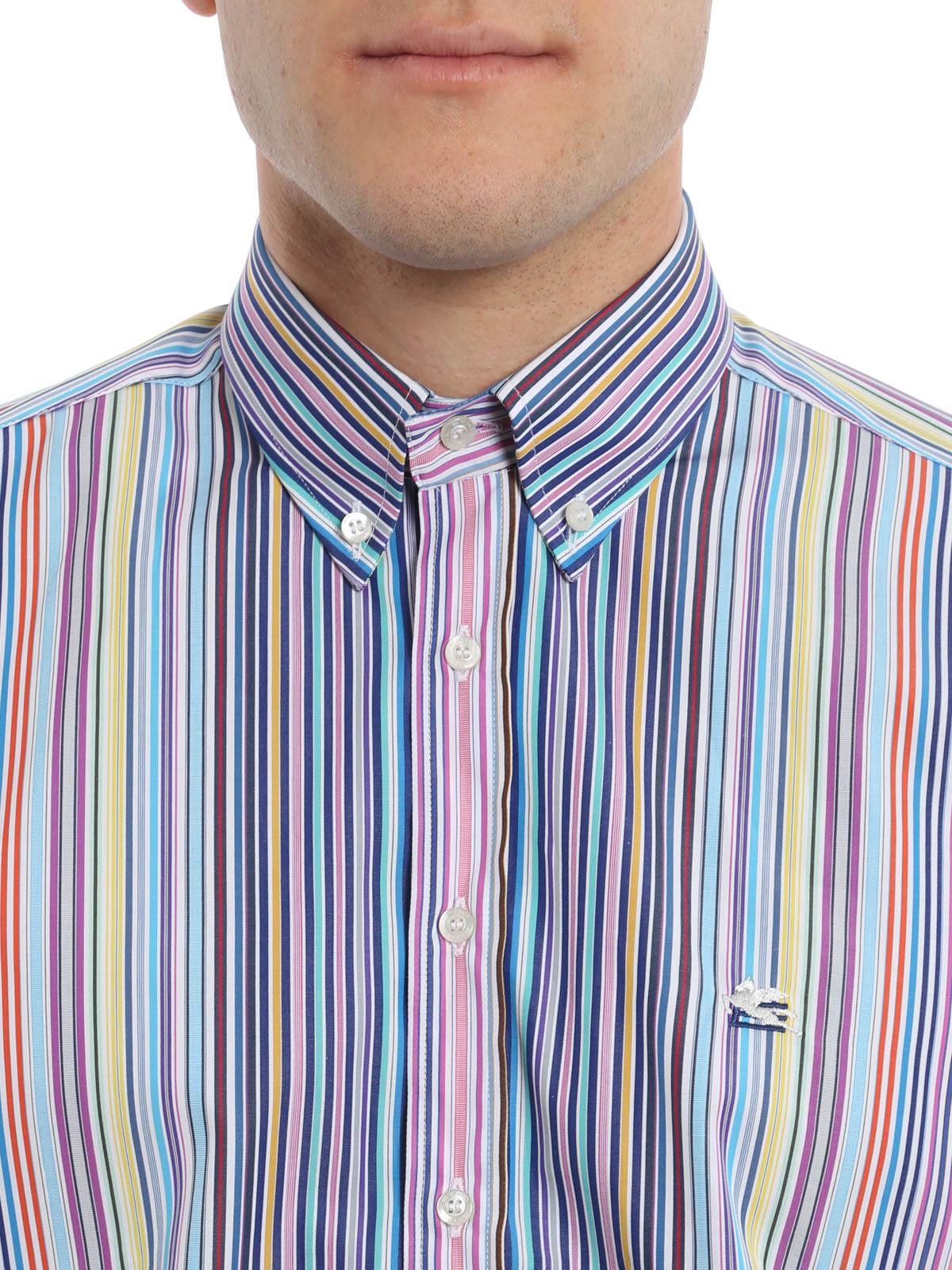 new arrival e7679 65849 Etro - Camicia stampa a righe - camicie - 16365 6023 250 ...