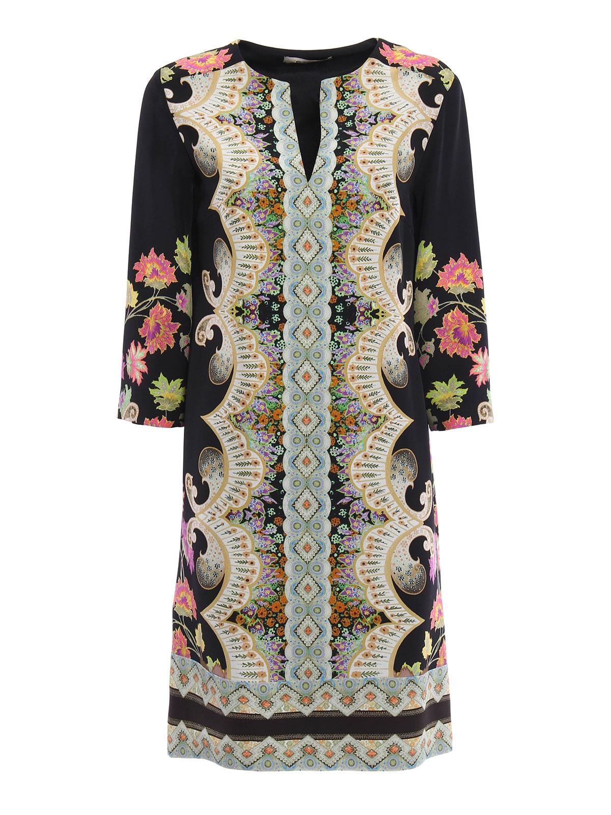 Sale Comfortable For Sale Cheap Online Floral silk tunic blouse Etro 100% Original Online Outlet Recommend KOqTj3i