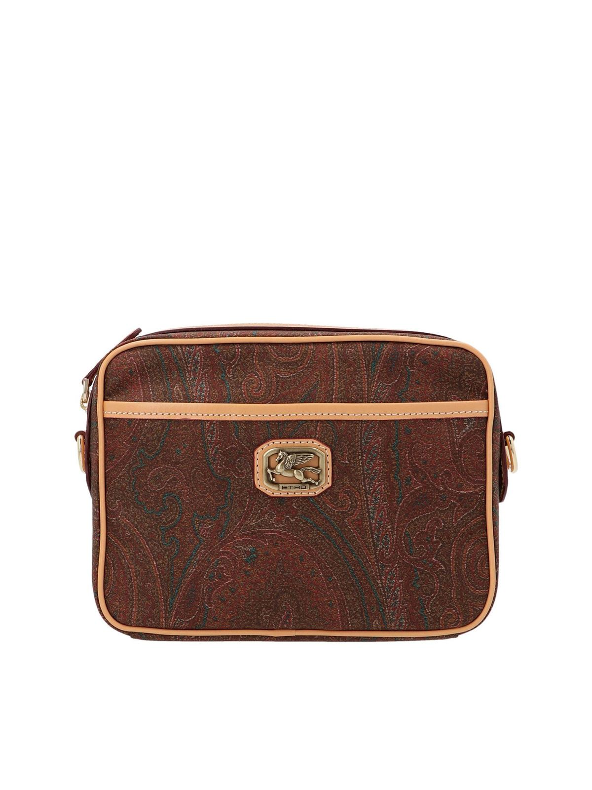 Etro PAISLEY CROSSBODY BAG IN MULTICOLOR