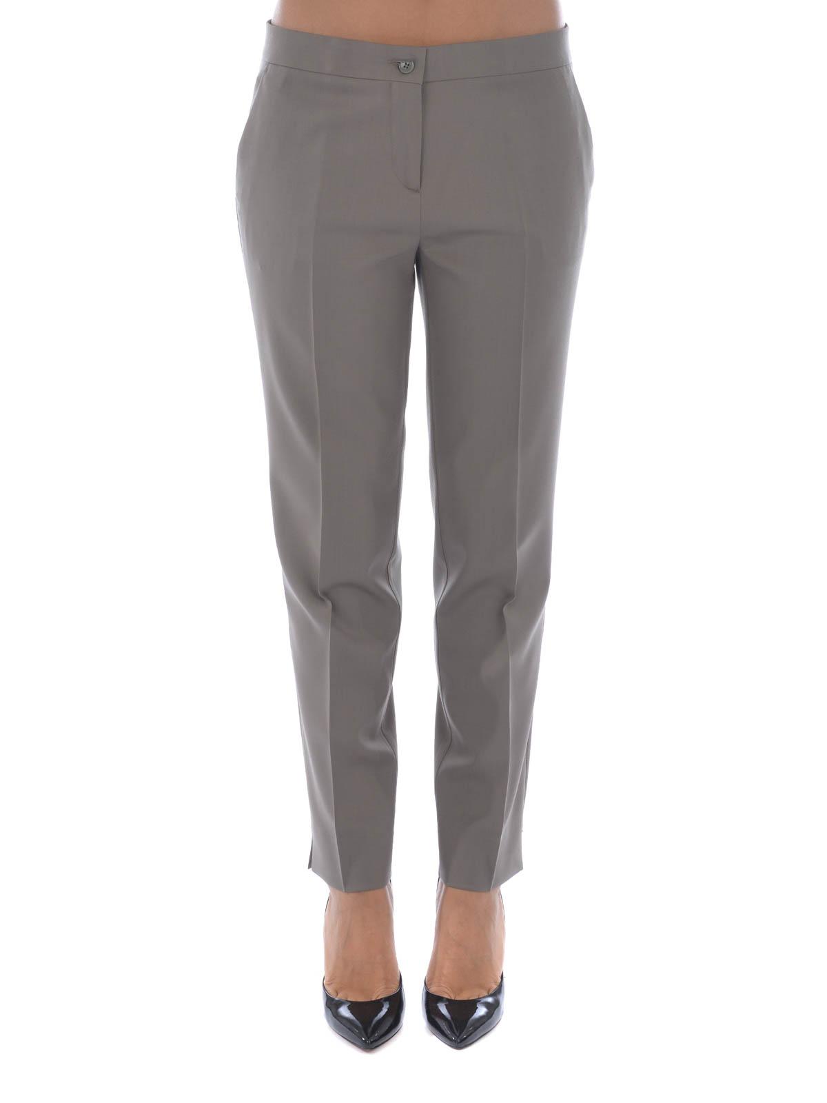 ETRO  Pantalones de sastrerìa online - Pantalón De Vestir Gris Para Mujer b9bdd3c9c9e6