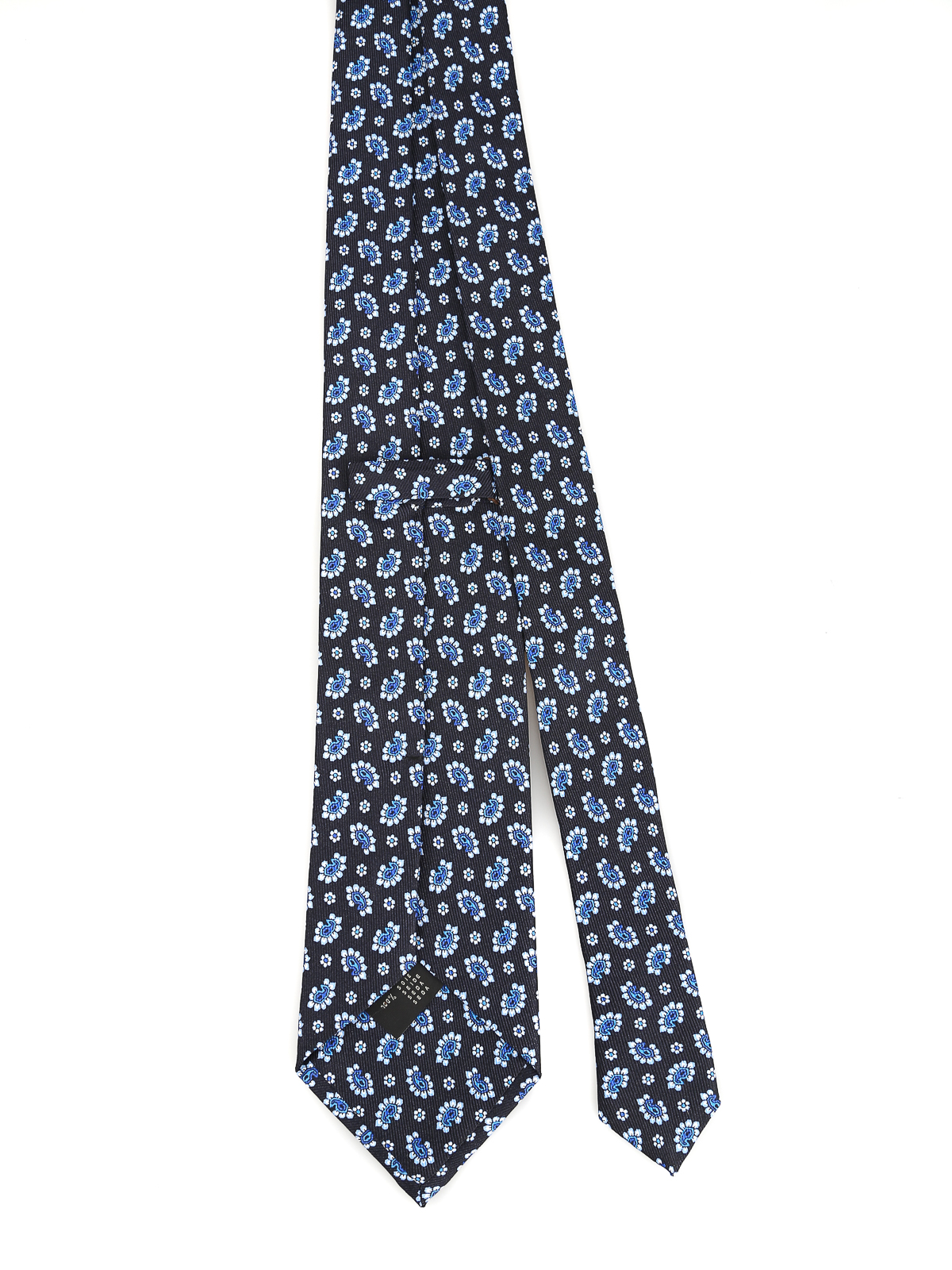 nuovi prodotti Stati Uniti sporchi online ordina online Etro - Cravatta in seta blu scura - cravatte e papillion ...