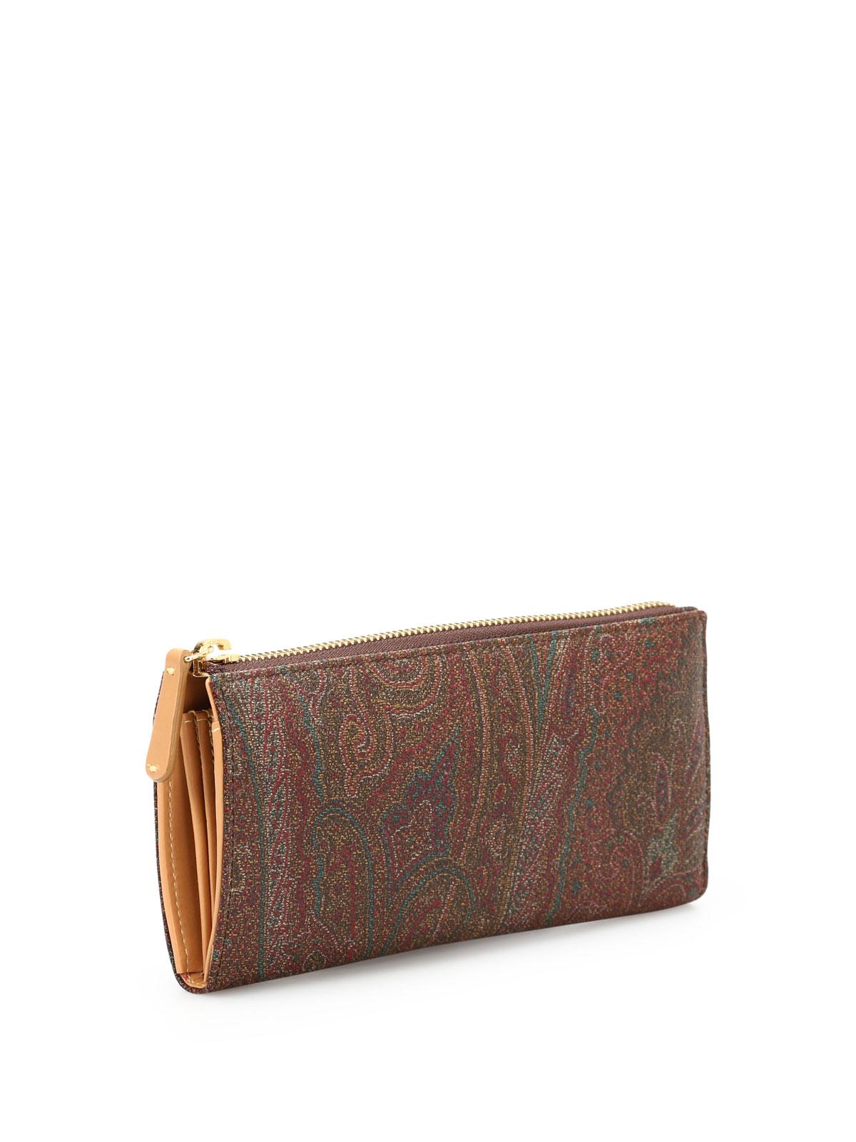 newest collection 94c6c 2eabc Etro - Portafoglio a ventaglio paisley - portafogli ...