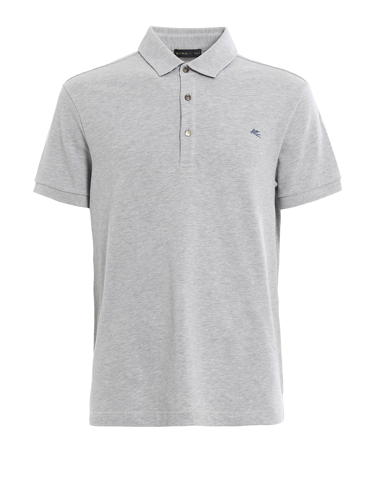 Embroidered Logo Polo Shirt By Etro Polo Shirts Shop