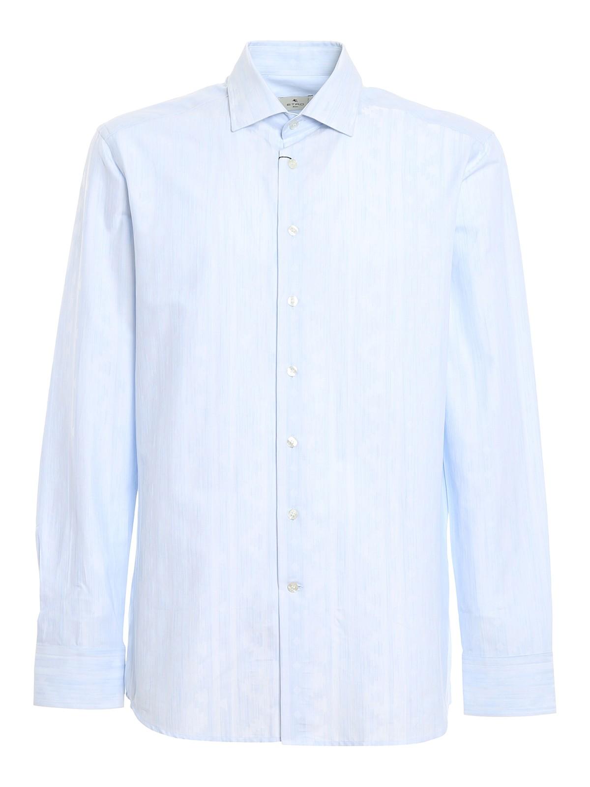 Etro Cottons GEOMETRIC NAIF PATTERNED SHIRT