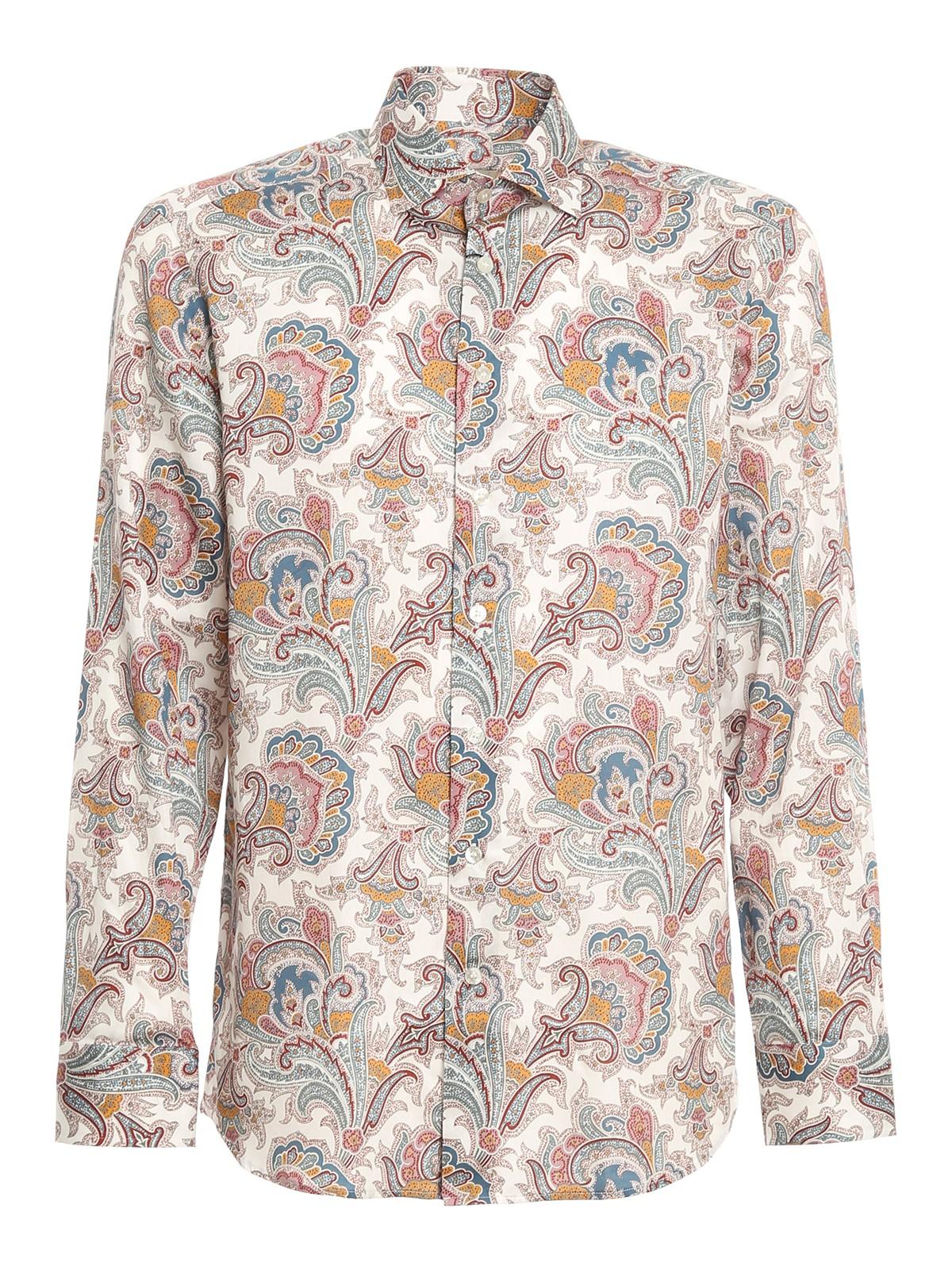 Etro Cottons PAISLY COTTON SHIRT