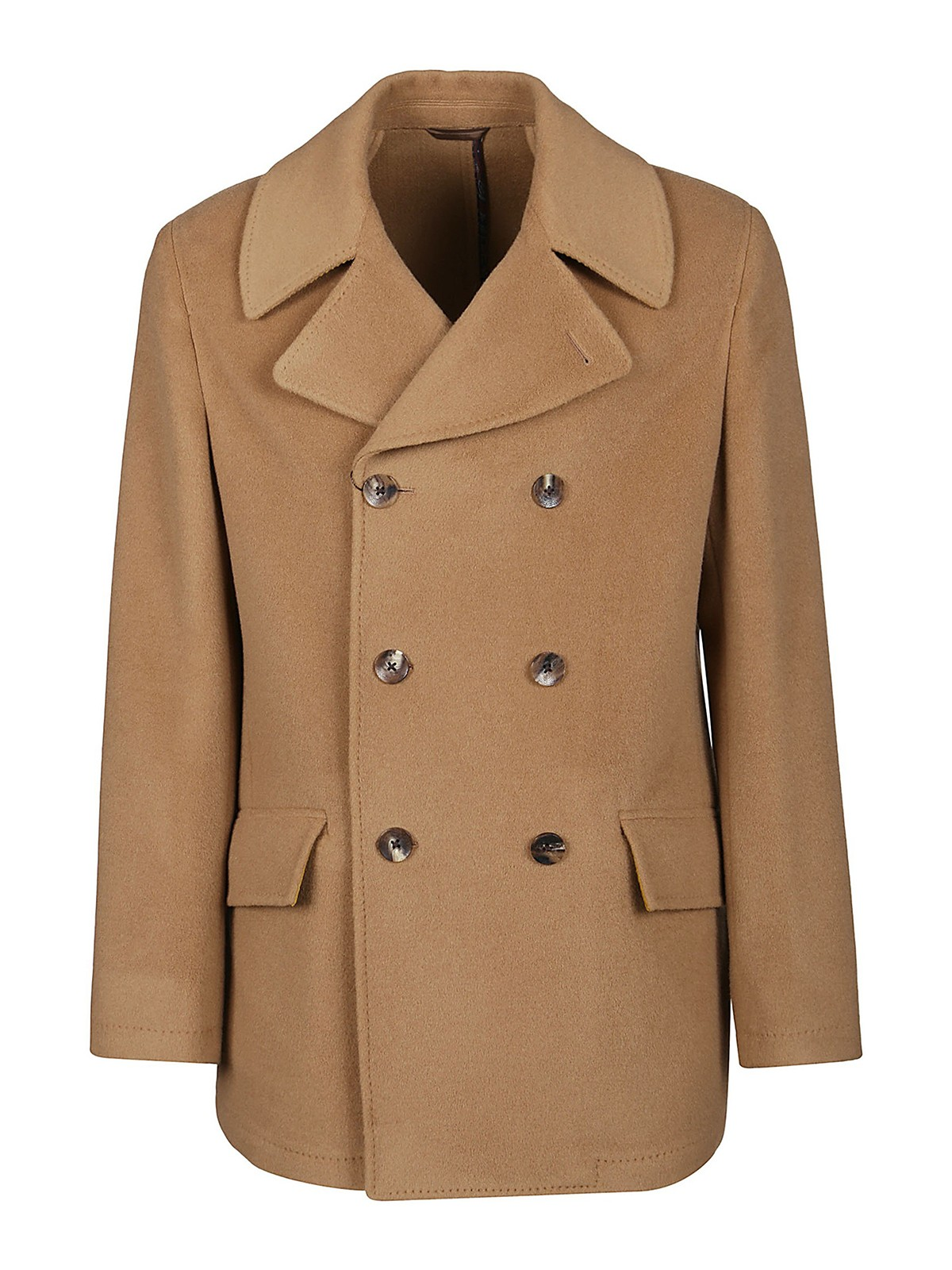 Etro WOOL AND CASHMERE PEACOAT