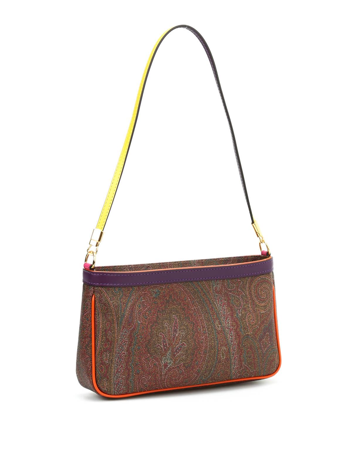 Paisley print small shoulder bag by Etro - shoulder bags | iKRIX