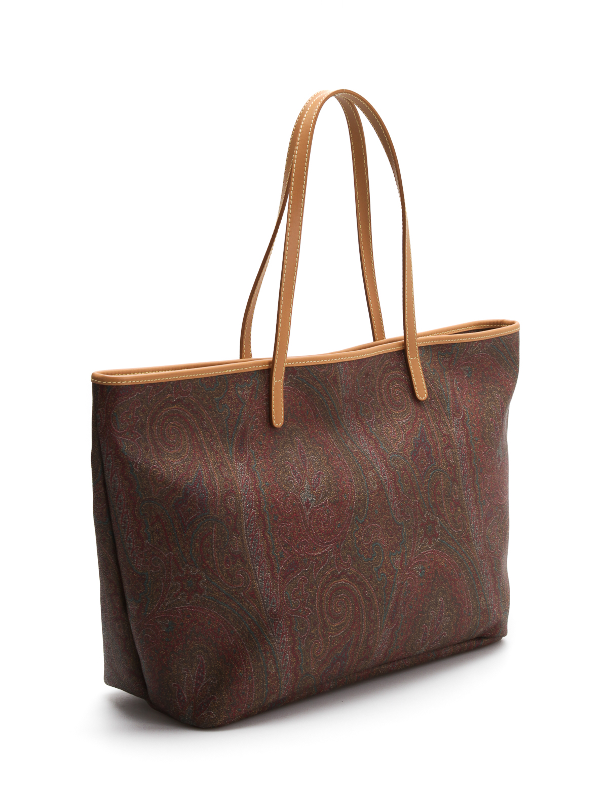 Paisley medium shopper bag by Etro - totes bags | iKRIX