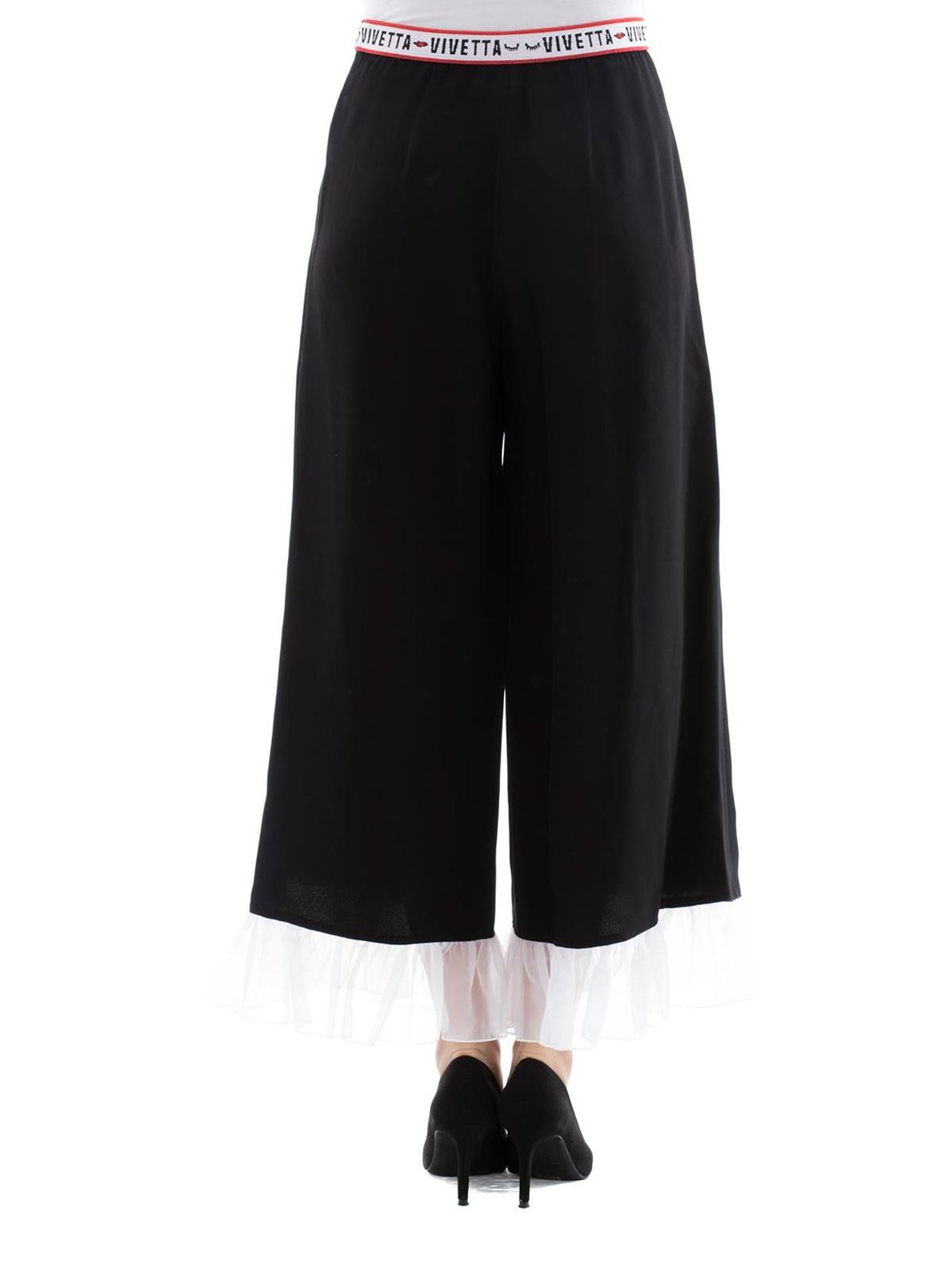 Euridome trousers - Black Vivetta kFxYrt