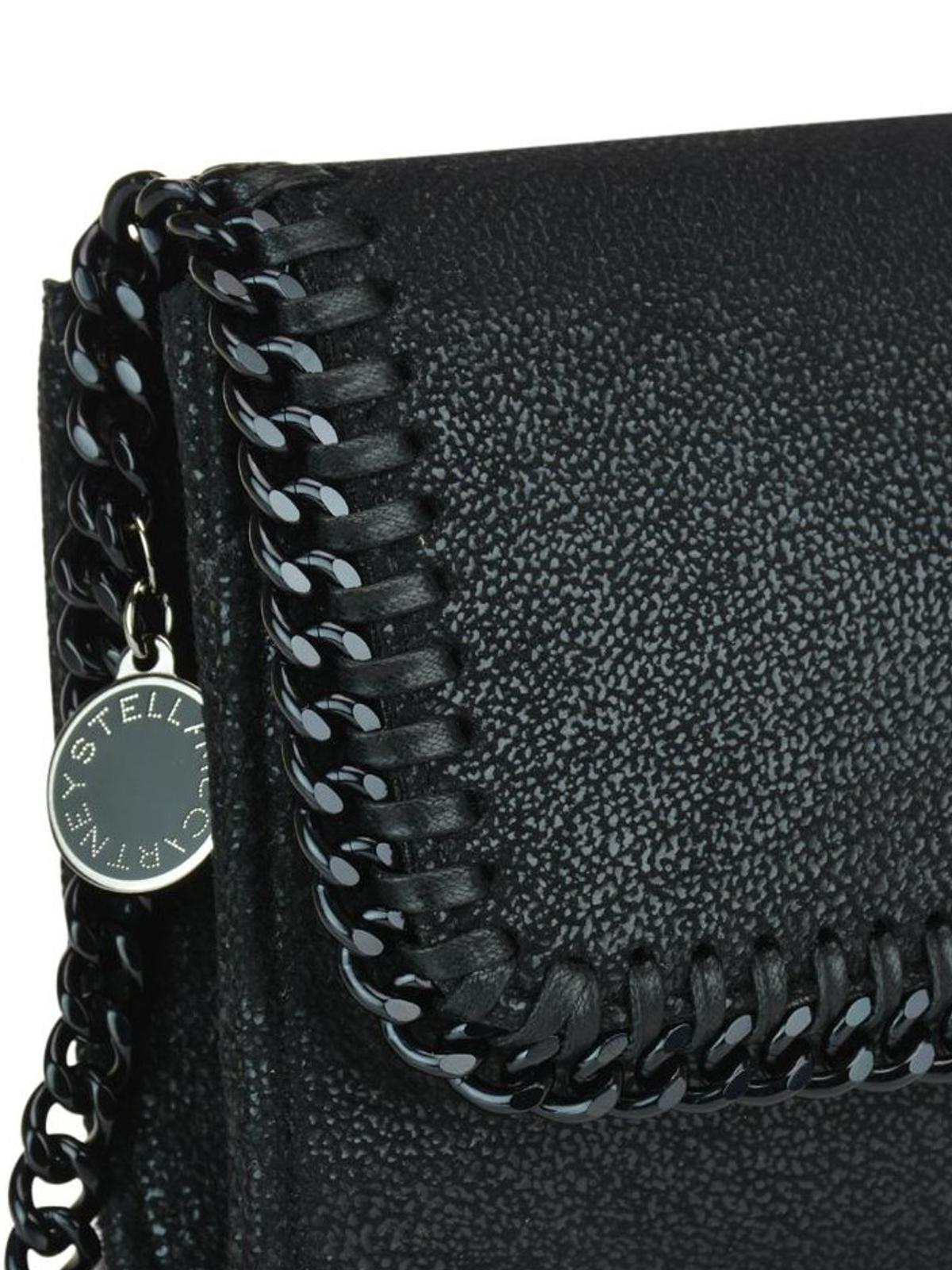 Falabella Black Gy Deer Cross Body Bag Online Stella Mccartney