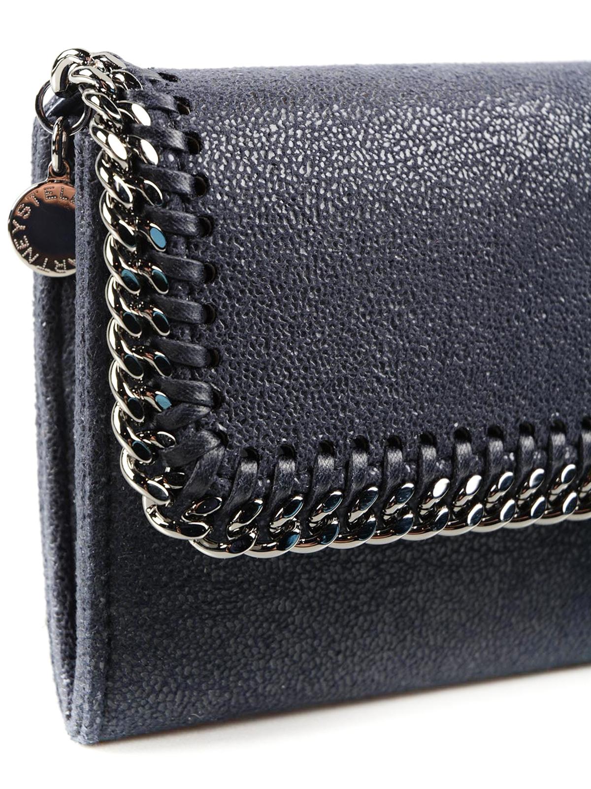 91d64d607d3 Stella Mccartney - Falabella chain detail wallet - wallets & purses ...