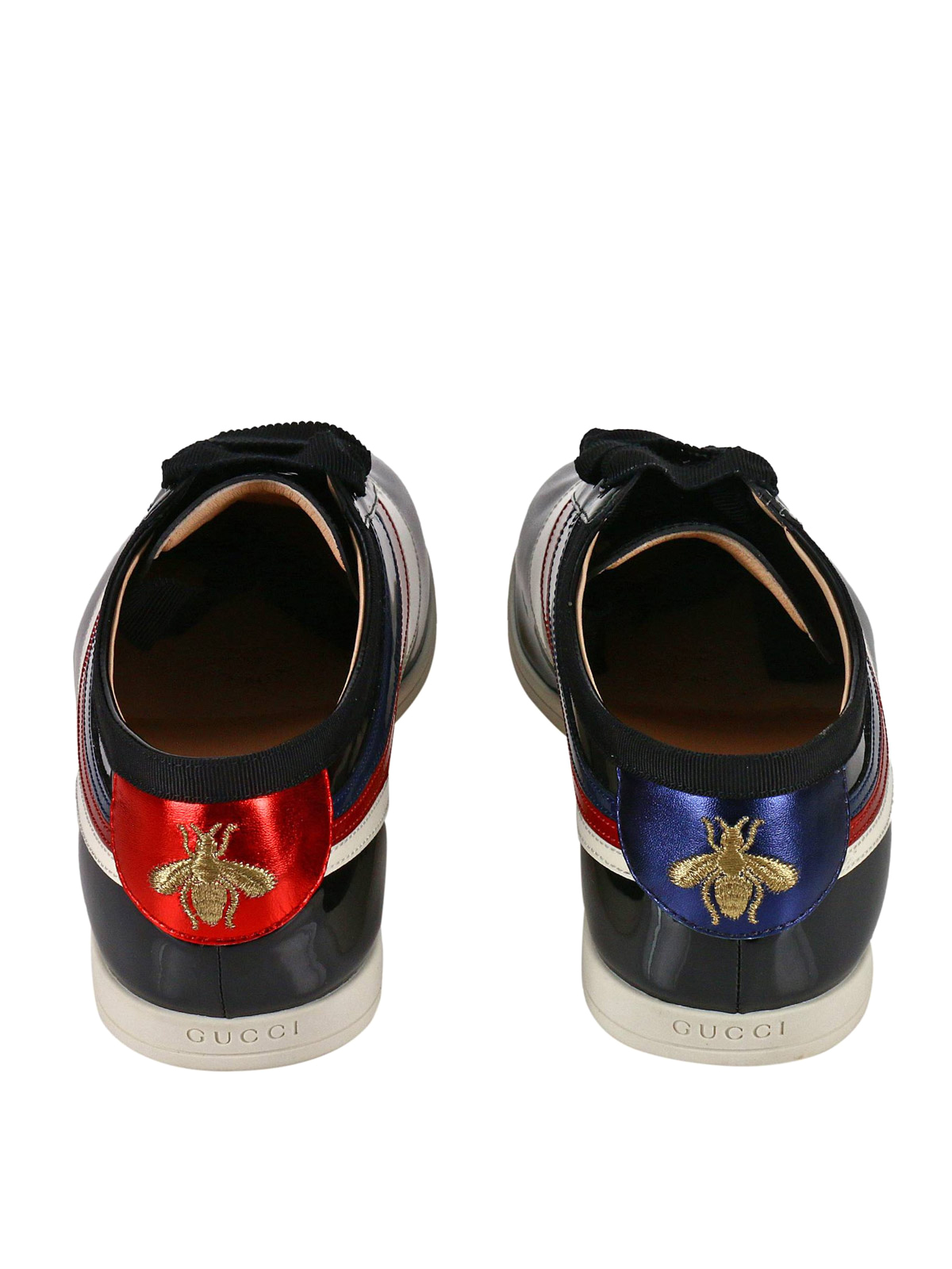 8bf6d52f63c Gucci - Falacer Web side patent sneakers - trainers - 493476 0B910 1082