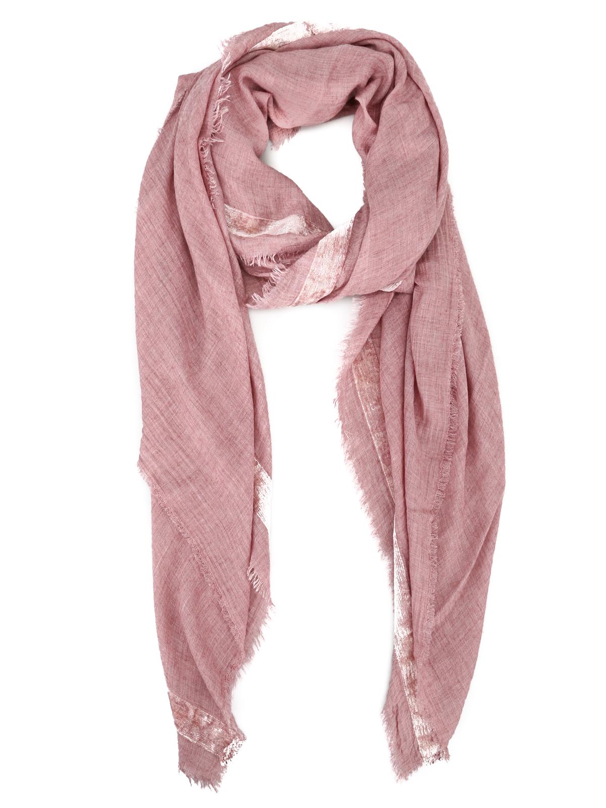 bellissimo aspetto meglio nuova alta qualità Faliero Sarti - Sciarpa rosa Mask in misto cashmere ...