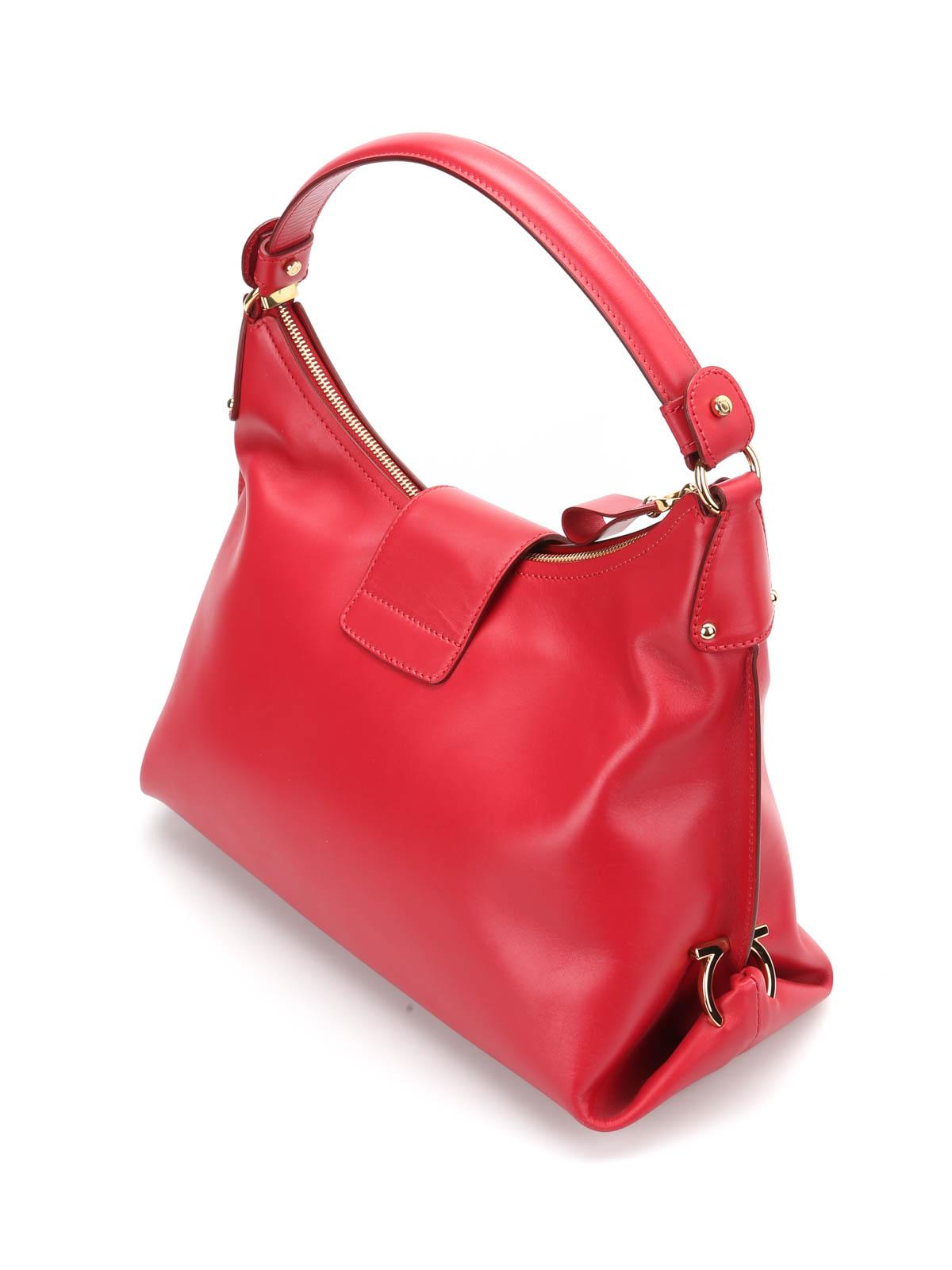 fe6df8f9b4 Salvatore Ferragamo - Fanisa hobo bag - totes bags - R 21E654 ...