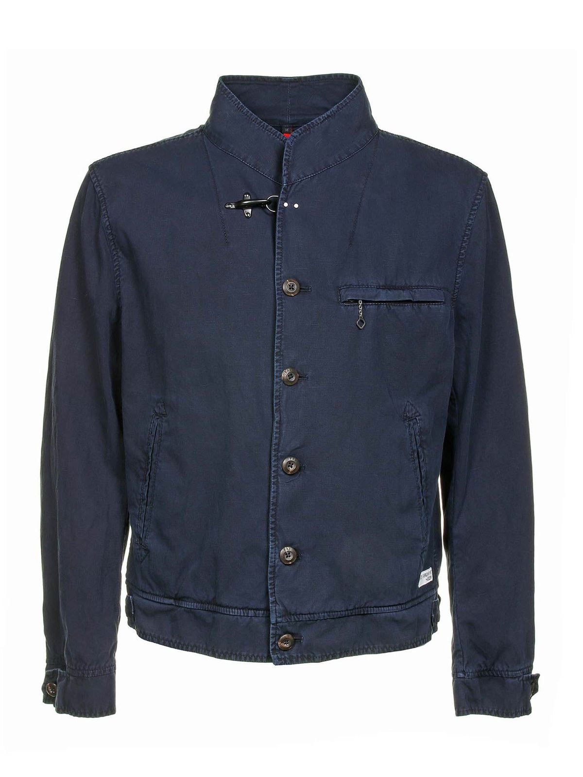 Fay Cottons FAY ARCHIVE WORK JACKET IN BLUE