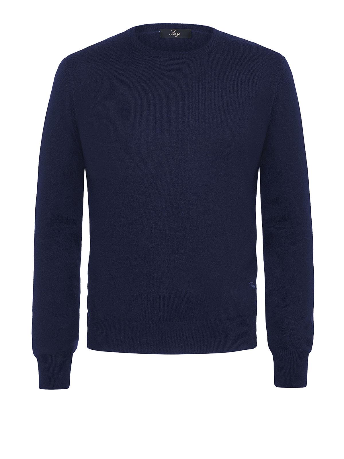 new styles 59061 72a8b Fay - Maglione girocollo in lana - maglia collo rotondo ...