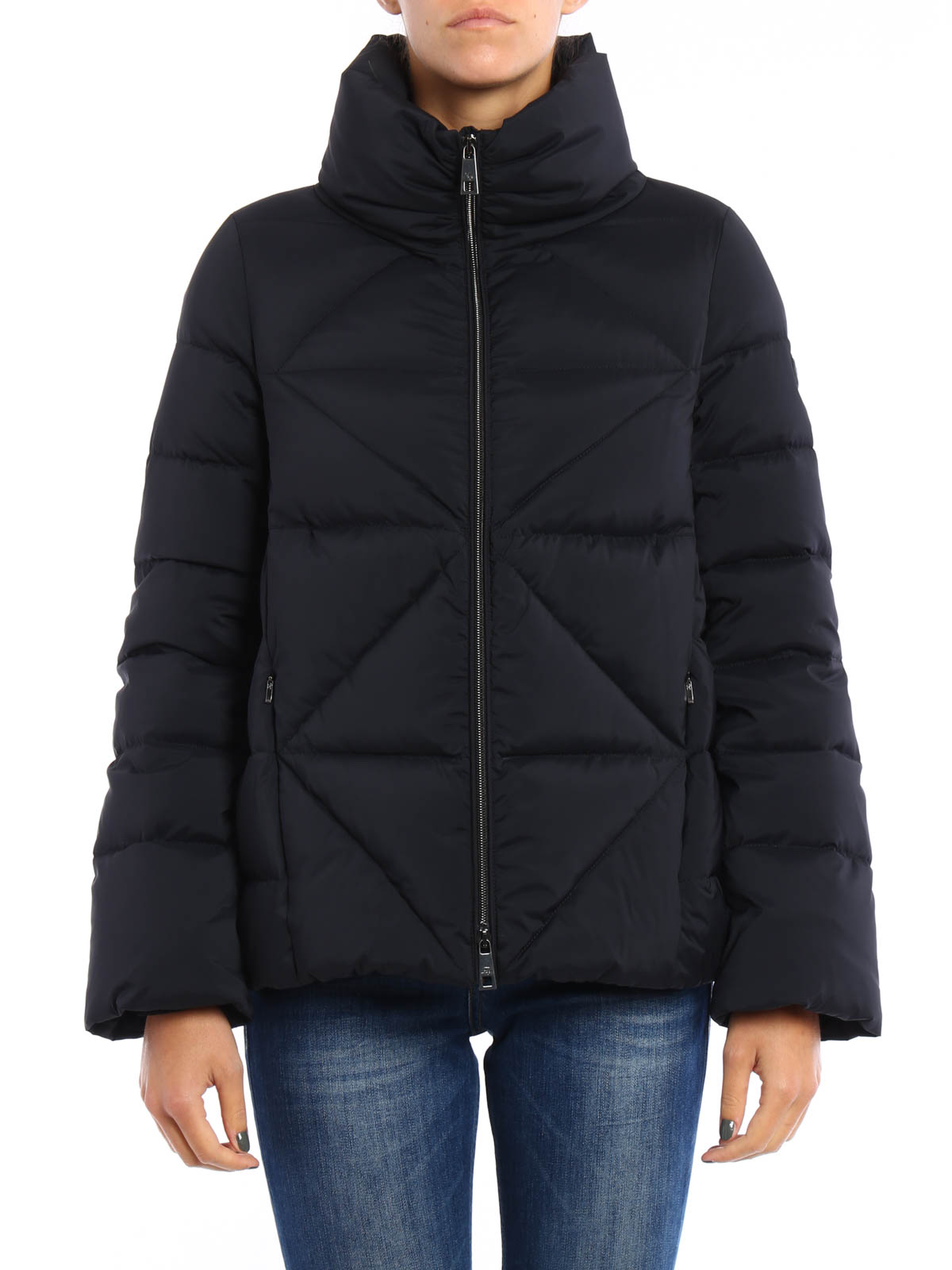 new arrivals 005c0 46f03 Fay - A-line quilted and padded jacket - padded jackets ...