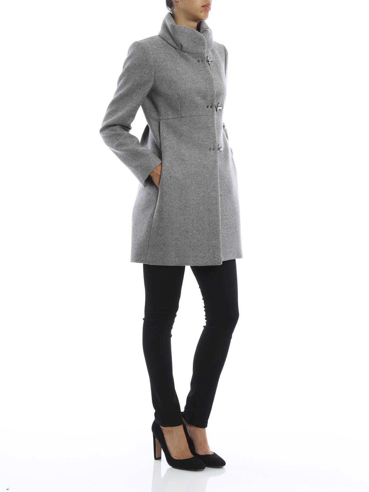 sports shoes 41296 073c2 Fay - Wool blend coat - short coats - NAW5033Y050 HAPB402 ...