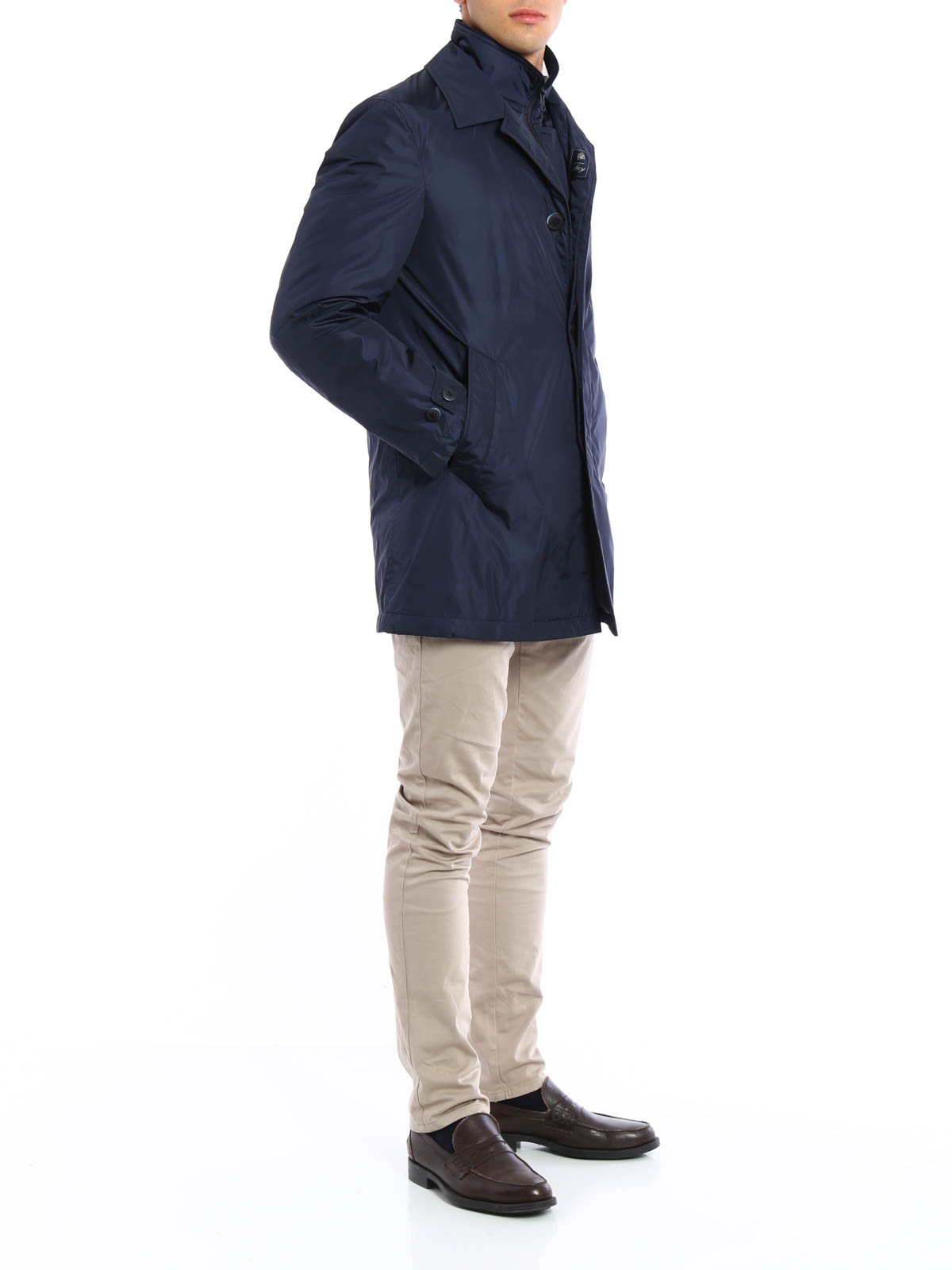huge discount 5e644 93ca2 Fay - Impermeabile double front - cappotti trench ...