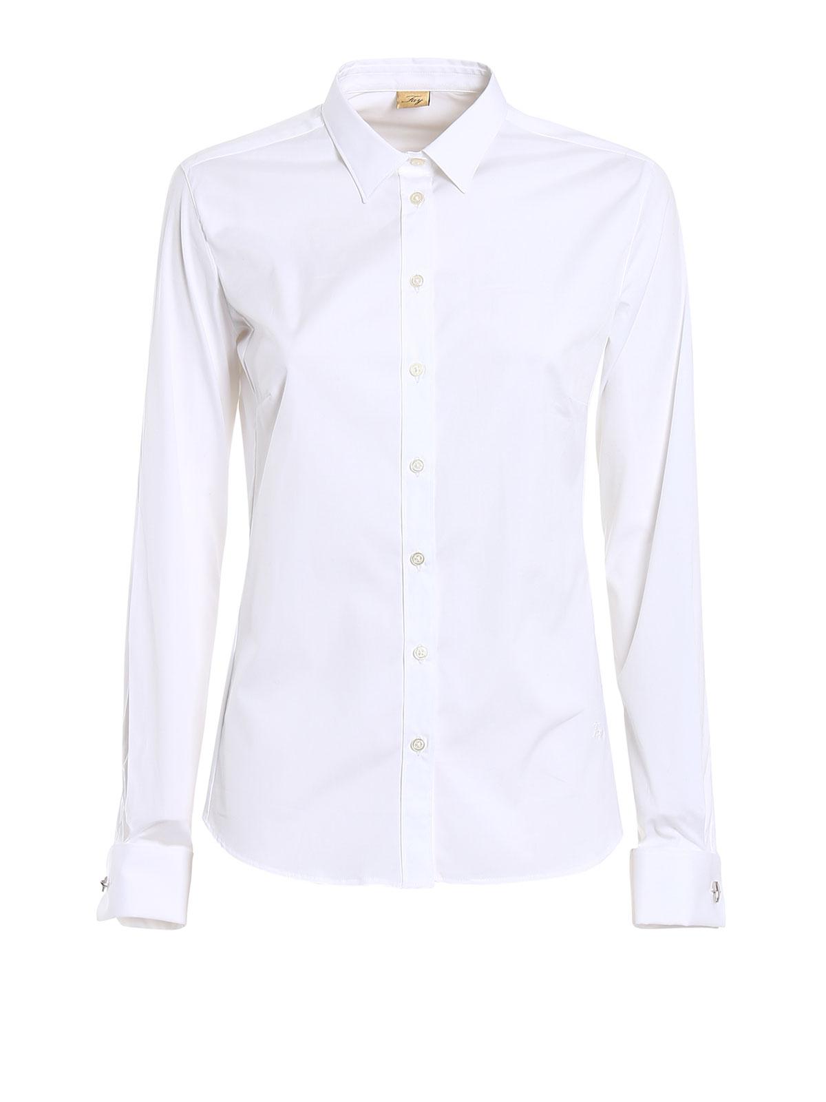 online retailer 53634 6a33a Fay - Camicia con gemelli a gancio - camicie ...