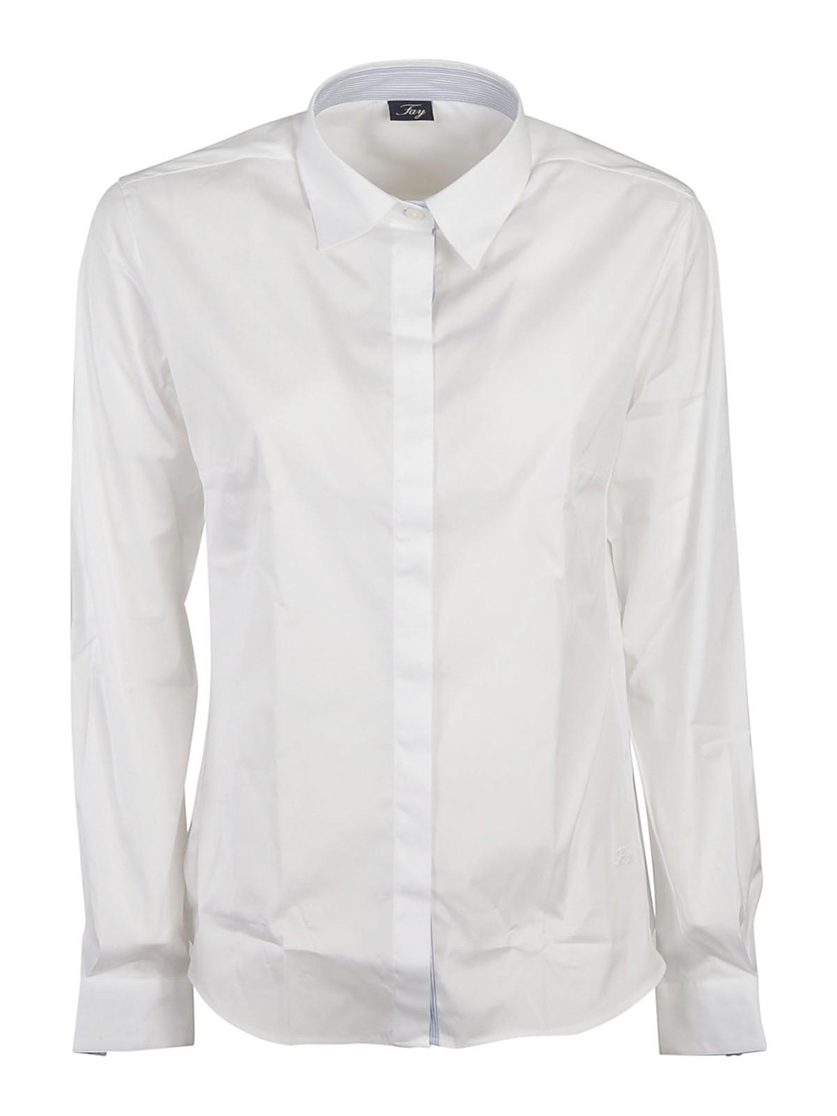 Fay Shirts POPLIN SHIRT