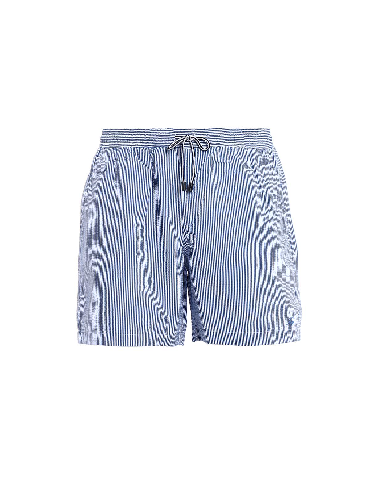 e46b863dc5a78 Fay - Cotton blend swim shorts - Swim shorts & swimming trunks ...