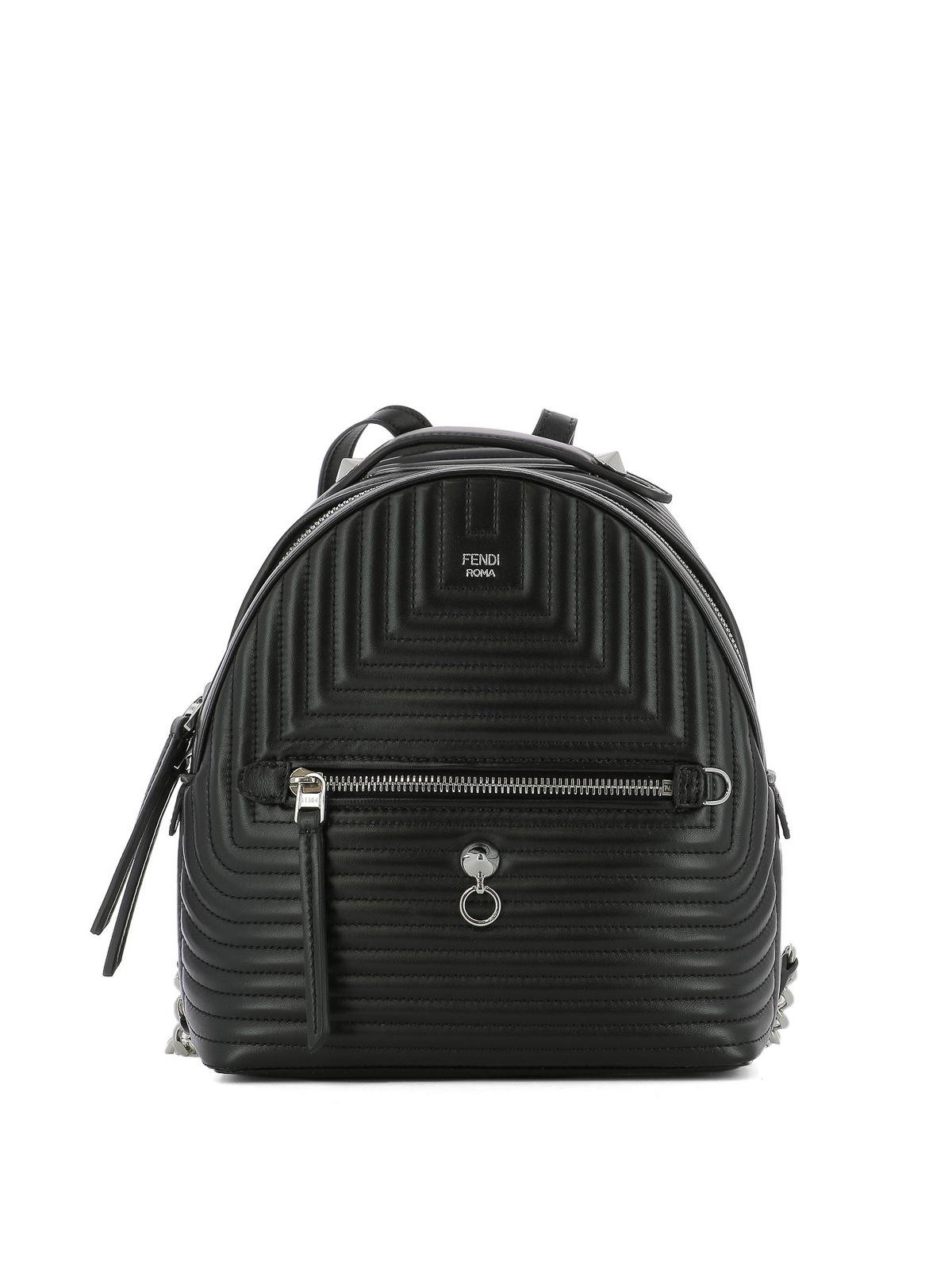 e1d34411138b Fendi - Quilted leather mini backpack - backpacks - 8BZ038I8FF0GXN