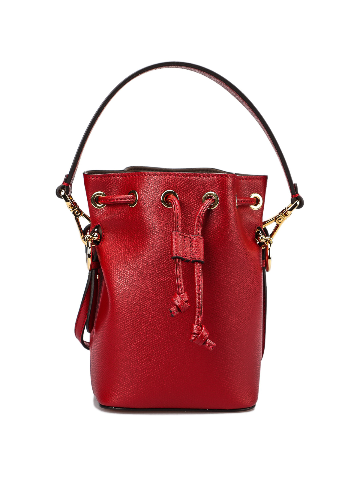 Fendi - Mon Tresor Mini red bucket bag - Bucket bags - 8BS010A18B MVV 2e2a1982c0217