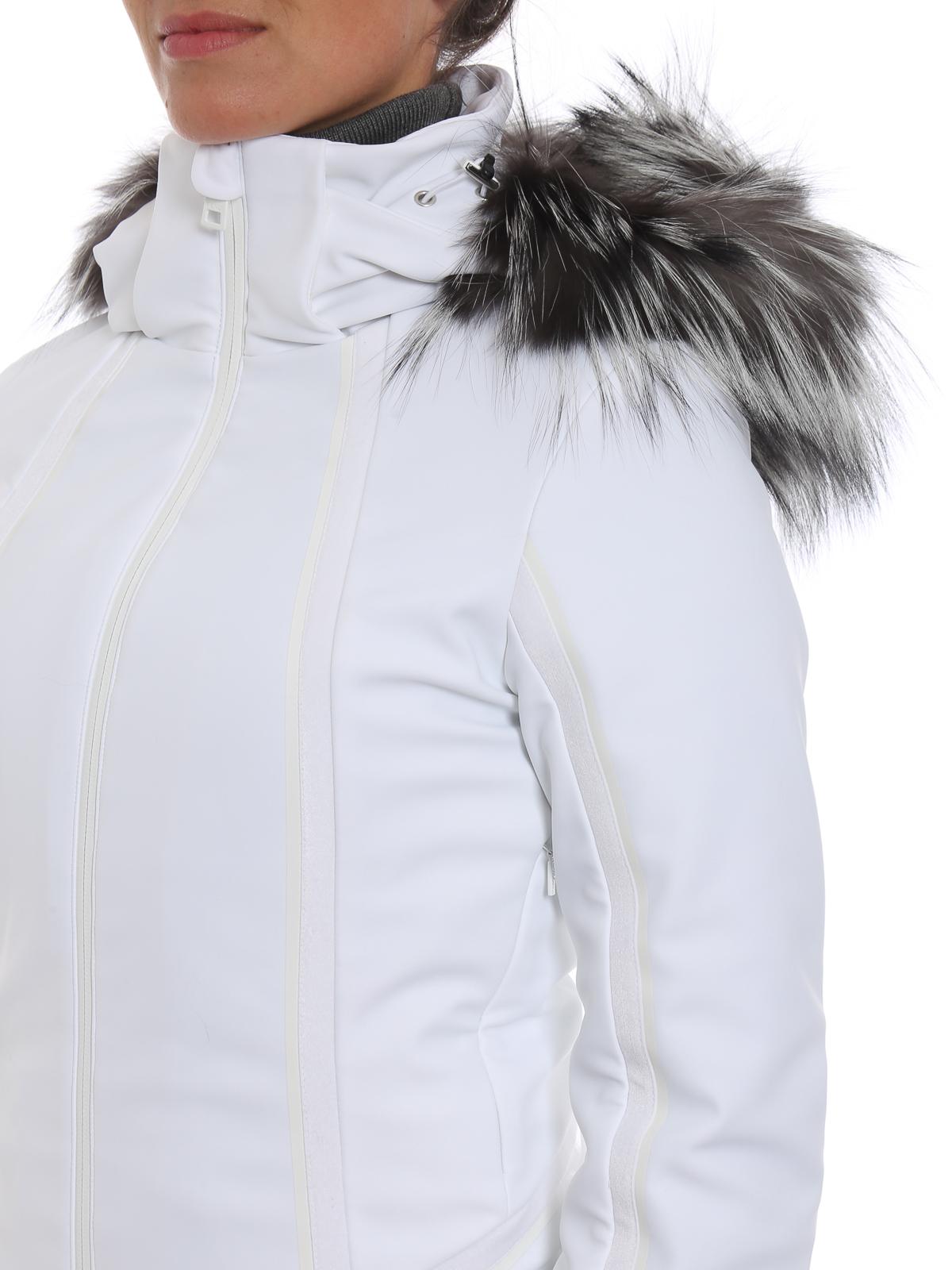 FENDI buy online Hi-tech ski jacket with fox fur inserts · FENDI  padded  jackets ... 7d5fcd4db