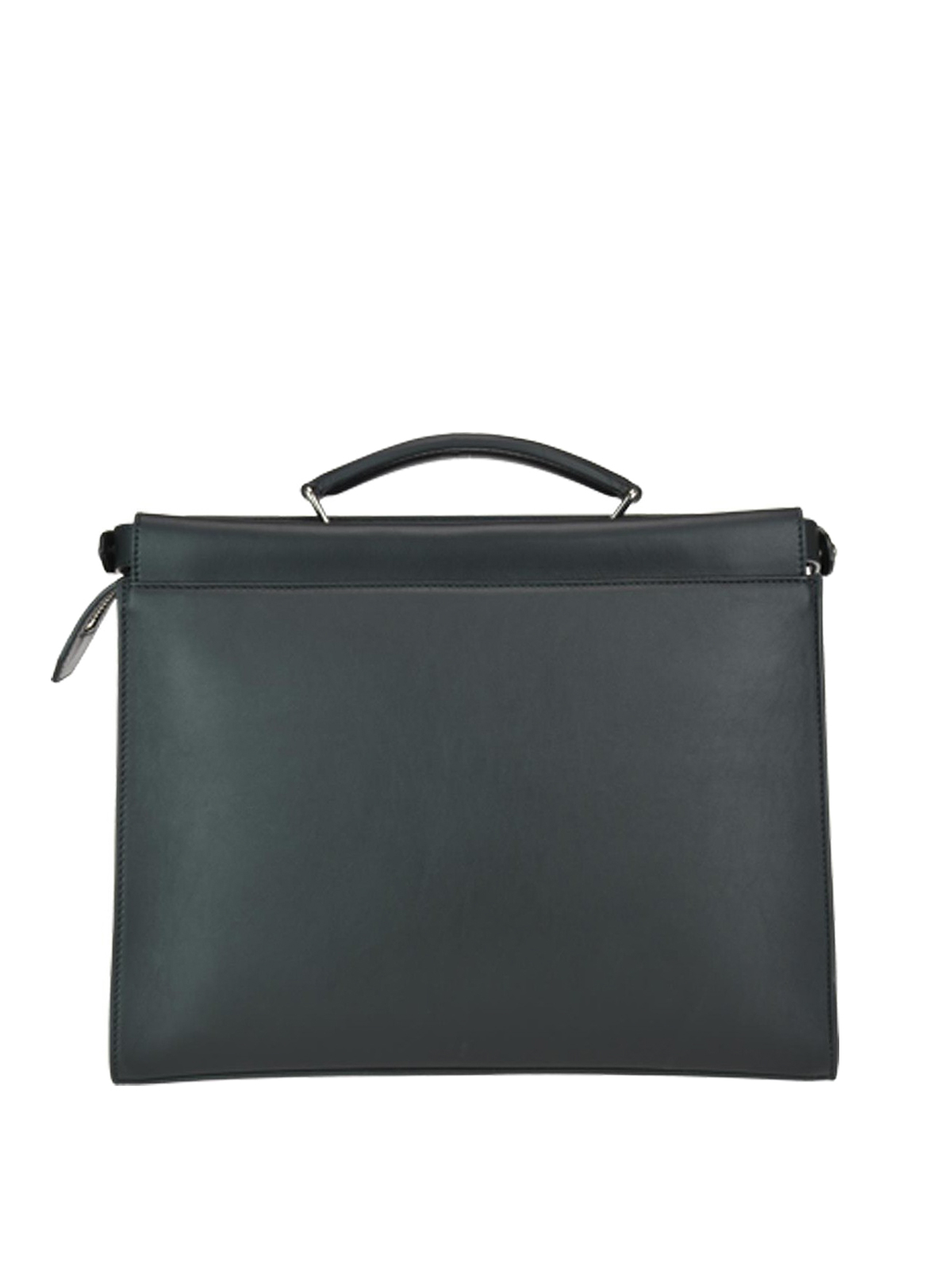 Leather Bag Briefcases Thin Fit Fendi Peekaboo Bagsamp; Laptop dCxBeo