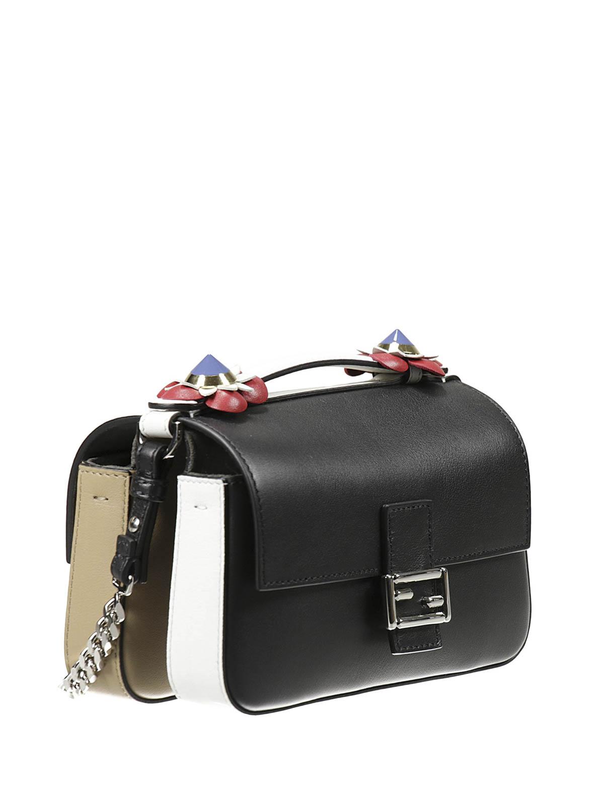89aa437b05b4 FENDI  cross body bags online - Fashion Show Double Micro Baguette