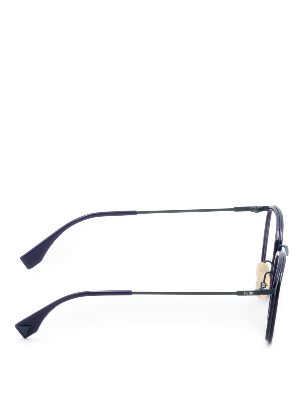 62dc7073fa Fendi - Slender frame eyeglasses - glasses - FFM0024PJP22